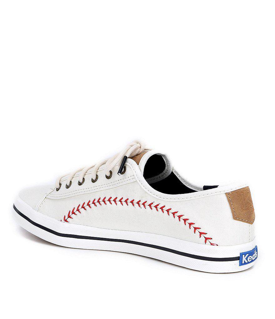Keds Kickstart Pennant Baseball Stitch Sneakers ghar4X4
