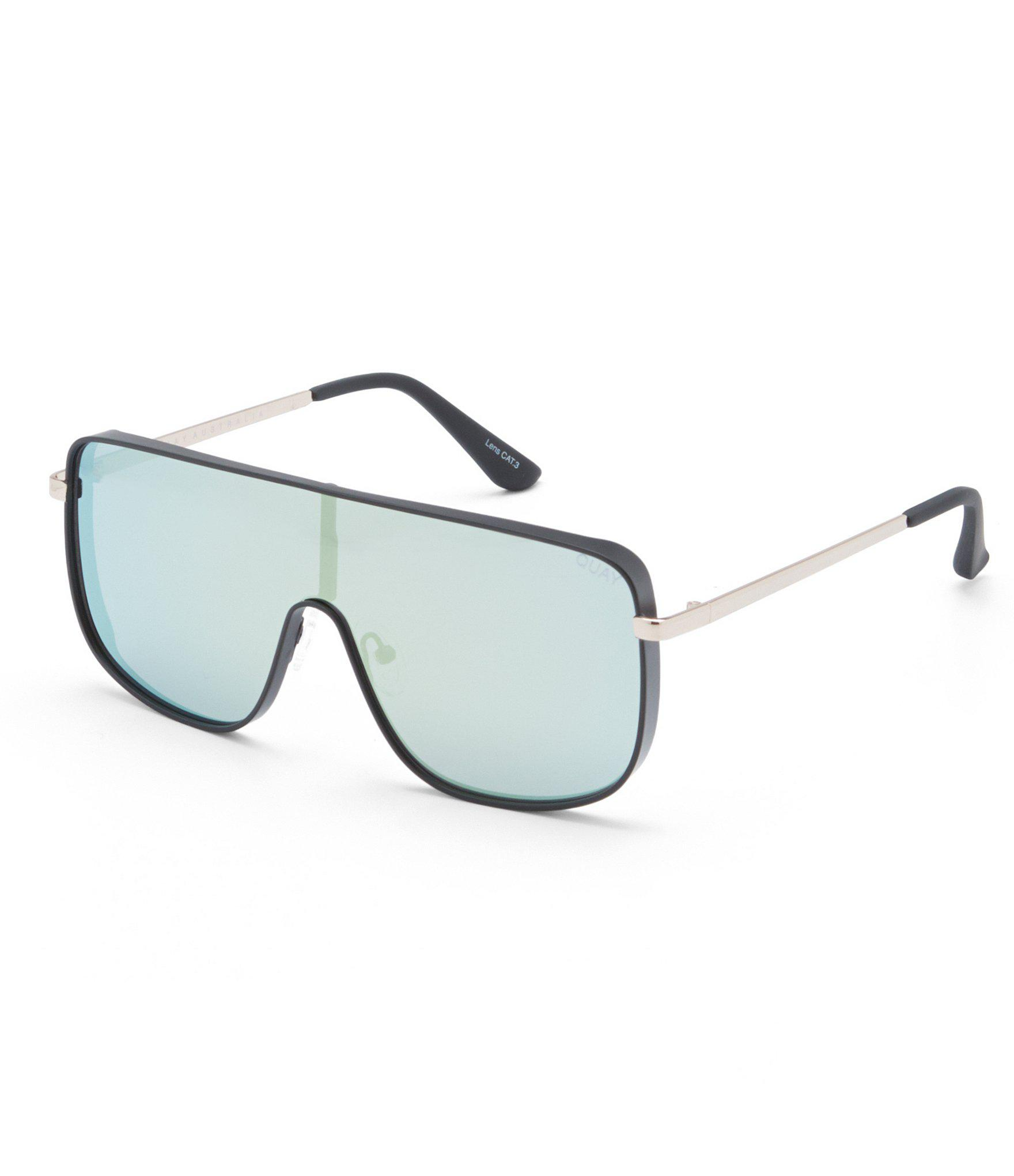 d6cc9cd7ce Quay Unbothered Shield Sunglasses - Lyst