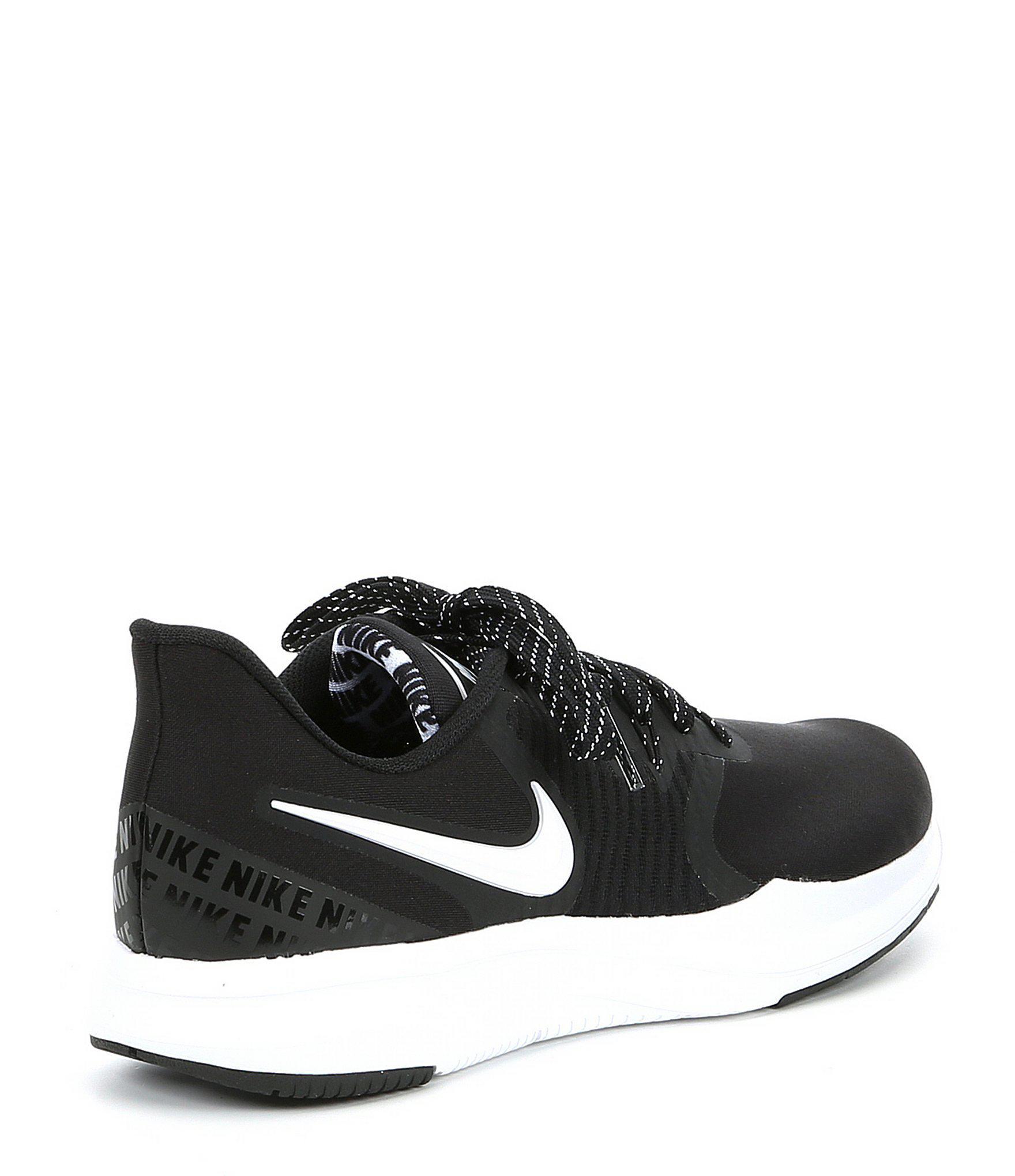 5a6c22df59a6 Nike - Black Women s In-season Tr 8 Print Training Shoe - Lyst. View  fullscreen