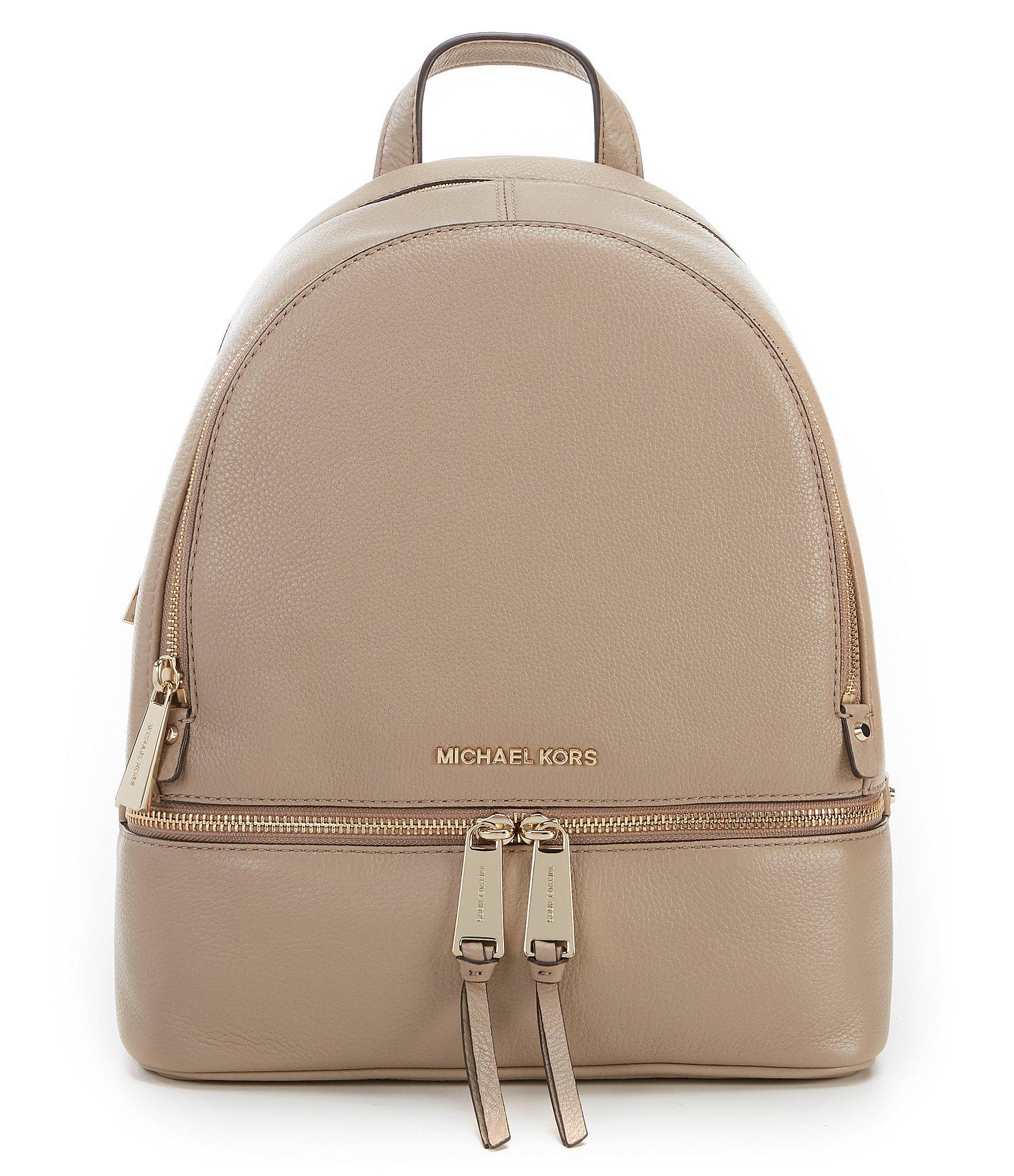 a8df1973c56b MICHAEL Michael Kors. Women s Rhea Medium Leather Backpack
