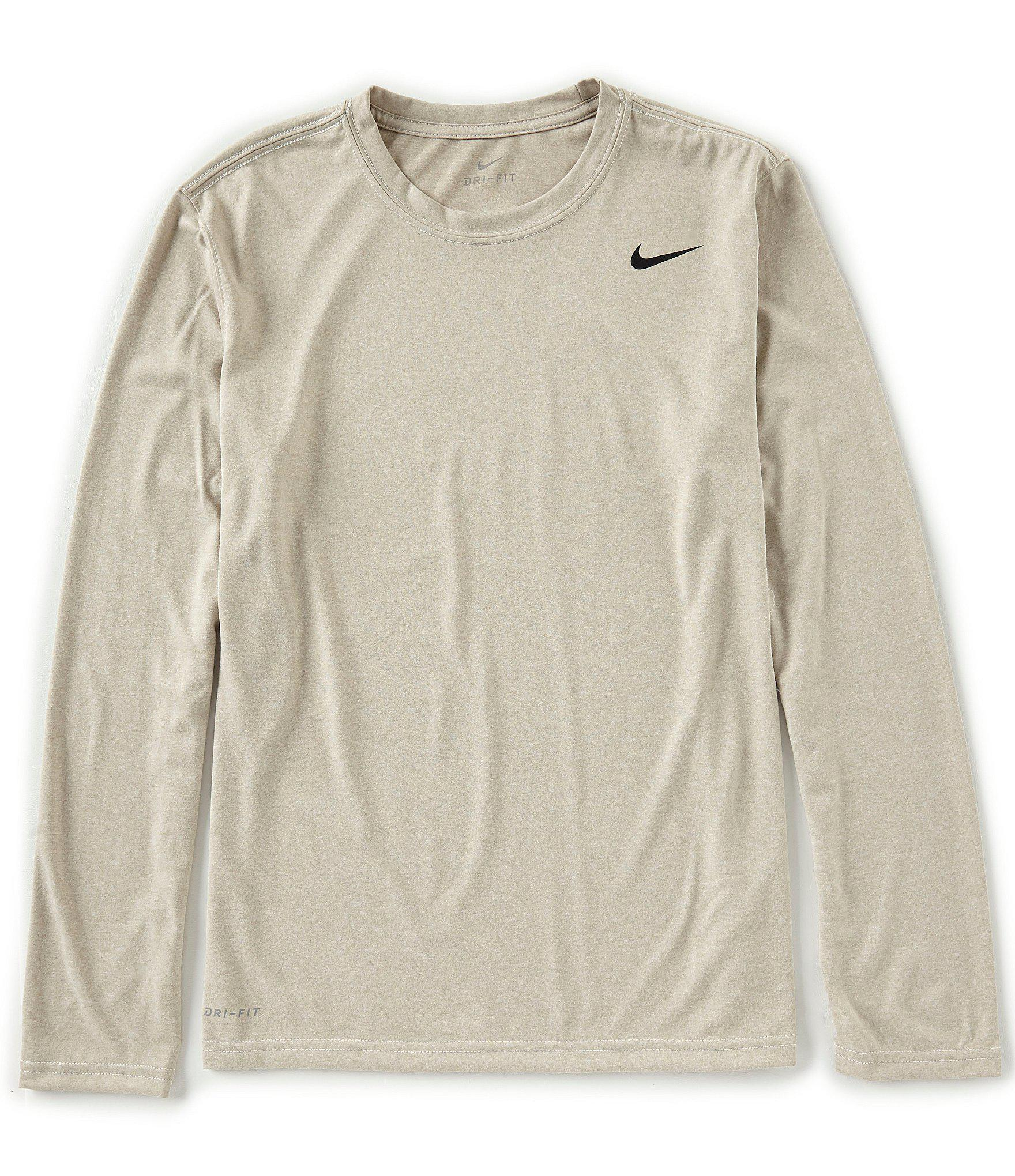 eb4851e3 Nike Natural Big & Tall Long-sleeve Dri-fit Legend Training Tee for men