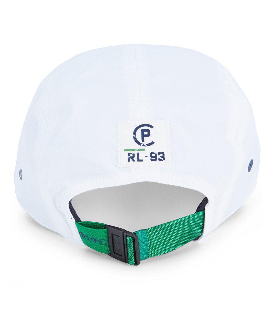 Lyst - Polo Ralph Lauren Cp-93 5-panel Camp Cap in White for Men 1b01cdd4c62