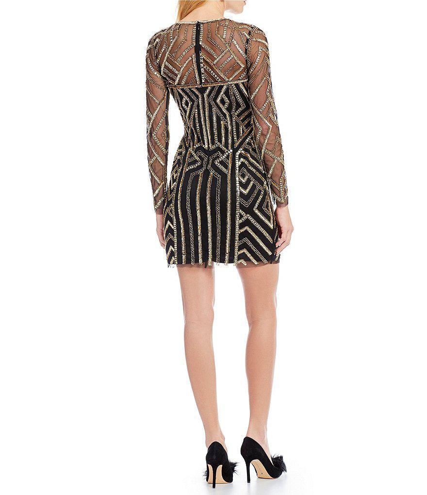 b461ce29f27 Gallery. Previously sold at  Dillard s · Women s Geometric Dresses Women s Sequin  Dresses