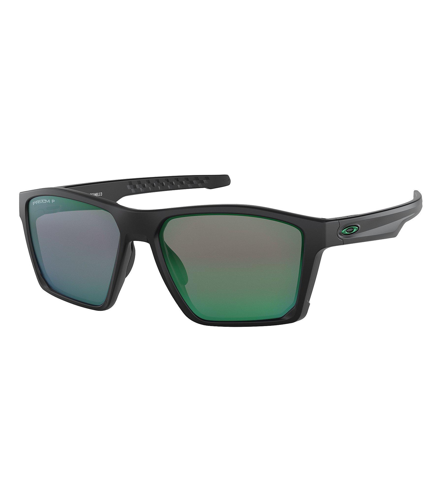 b9c9d3e40d ... aliexpress lyst oakley mens target line green lens sunglasses in black  for men b6ff1 a1f3c