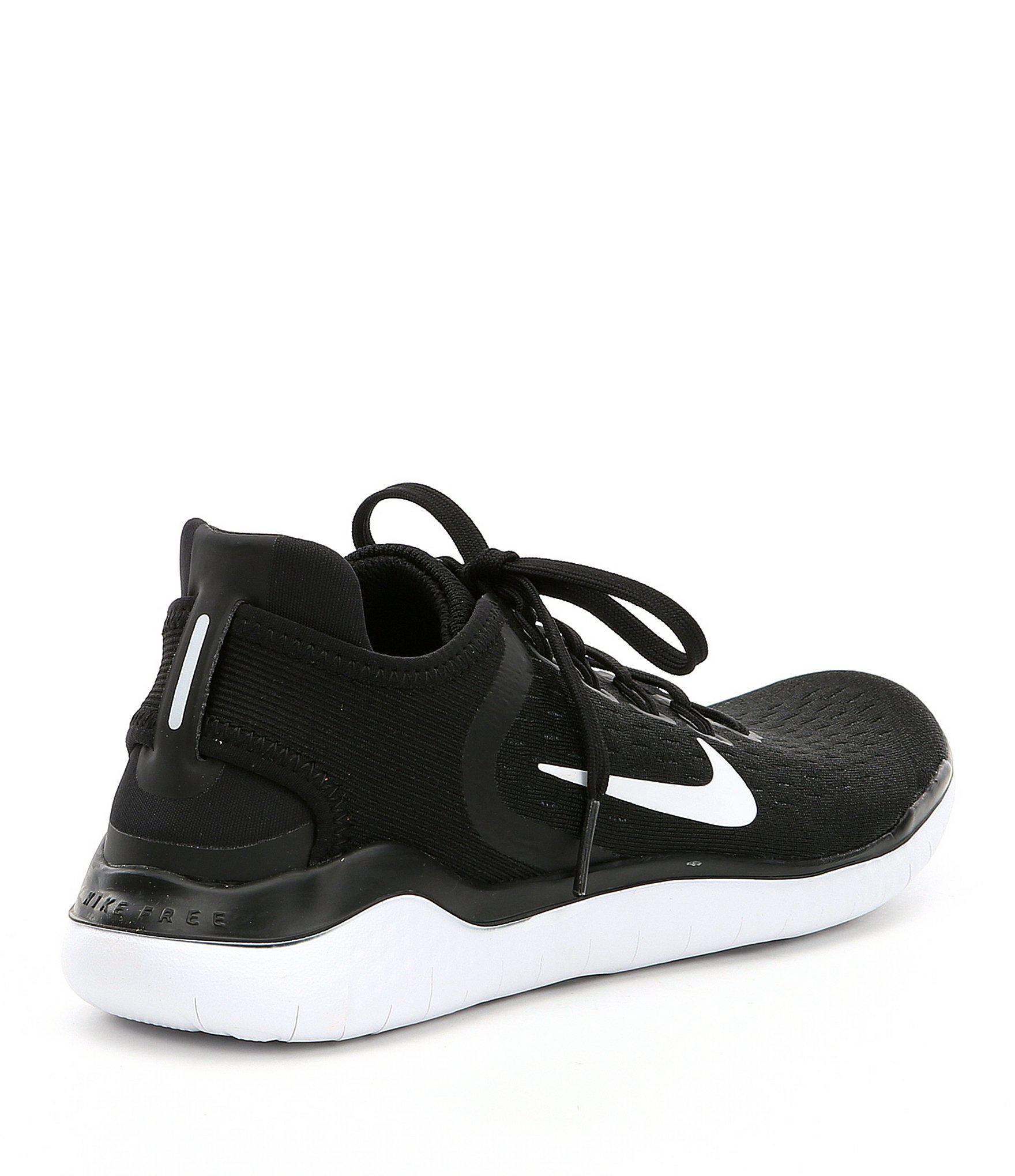4da567452584 Lyst - Nike Women s Free Rn 2018 Running Shoes in Black
