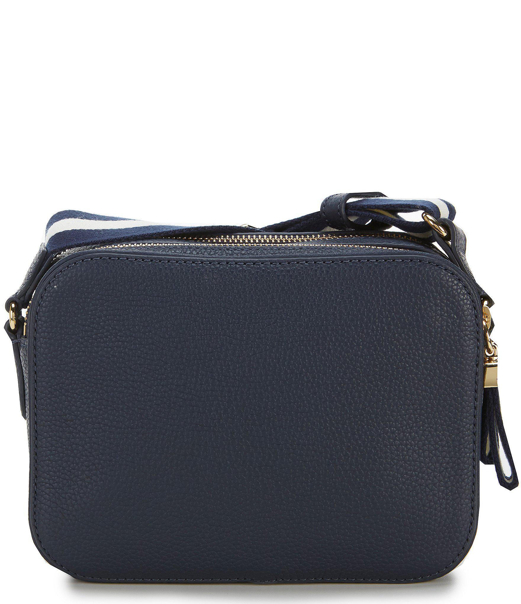 Lyst - Lauren by Ralph Lauren Cross-body Bag in Blue 82a25484aa