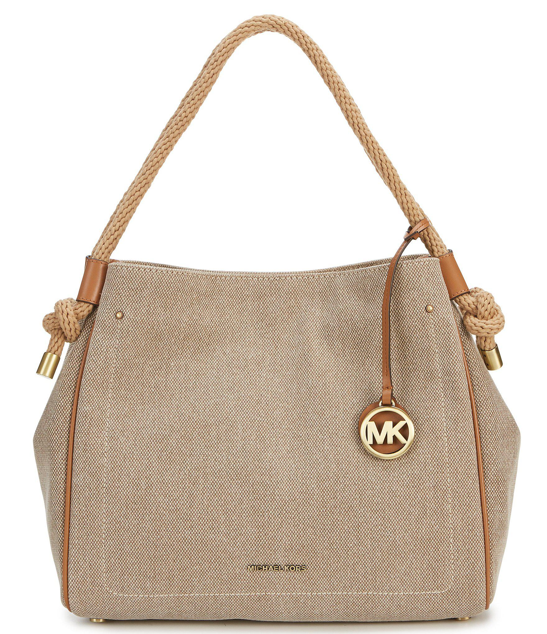 c1277325bb MICHAEL Michael Kors. Women s Natural Isla Large Washed Hemp Canvas Grab Bag.   198 From Dillard s
