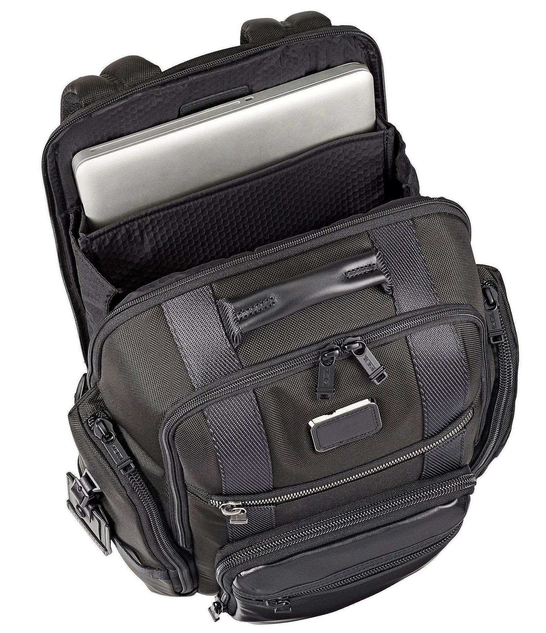 7b4047e8e Tumi - Black Alpha Bravo Sheppard Deluxe Brief Backpack for Men - Lyst.  View fullscreen