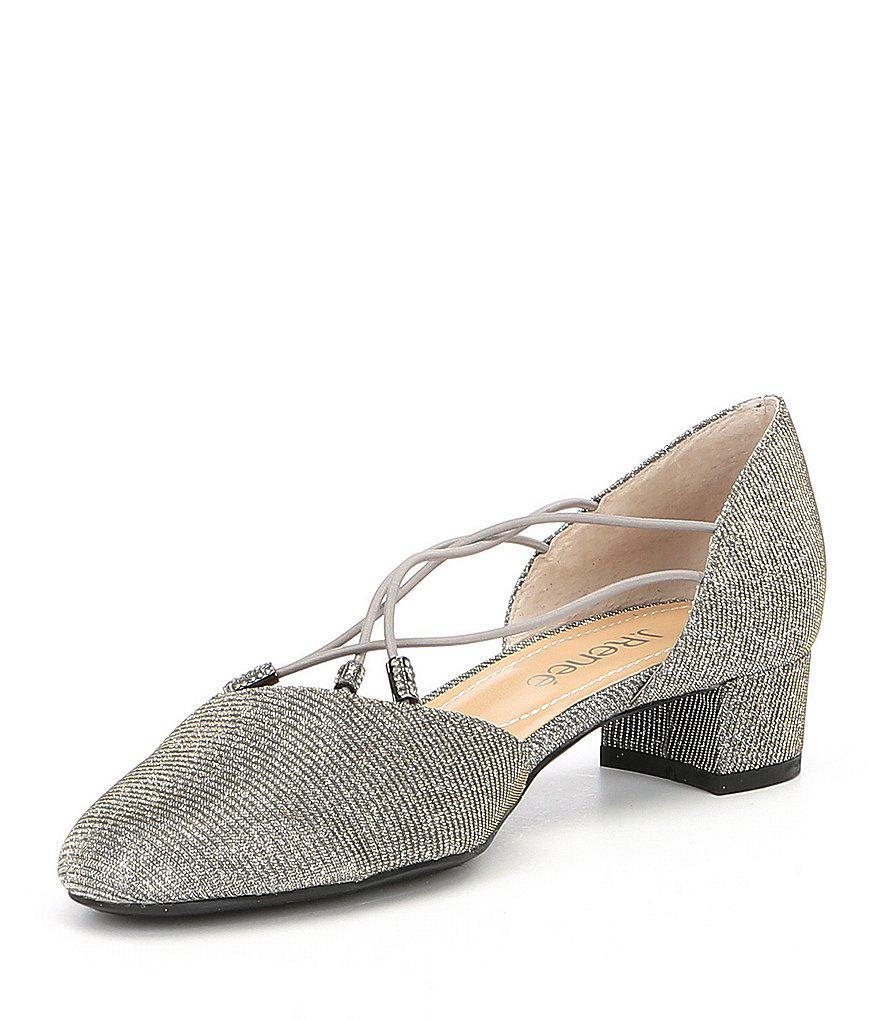 J. Renee Charolette Glitter Dress Pumps nD1XKaAA1