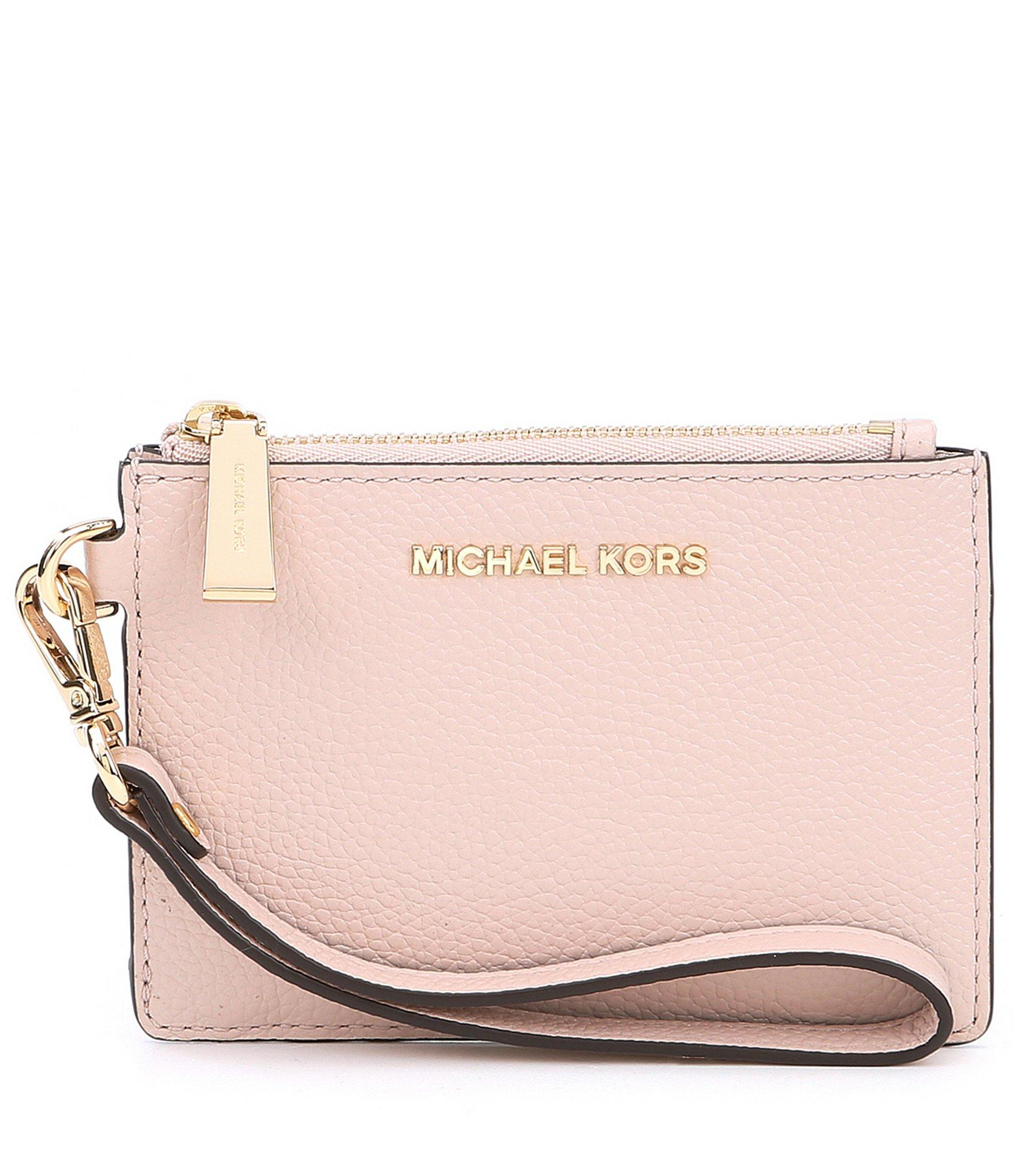 6bcde6d28a50 Lyst - MICHAEL Michael Kors Mercer Small Coin Purse in Pink