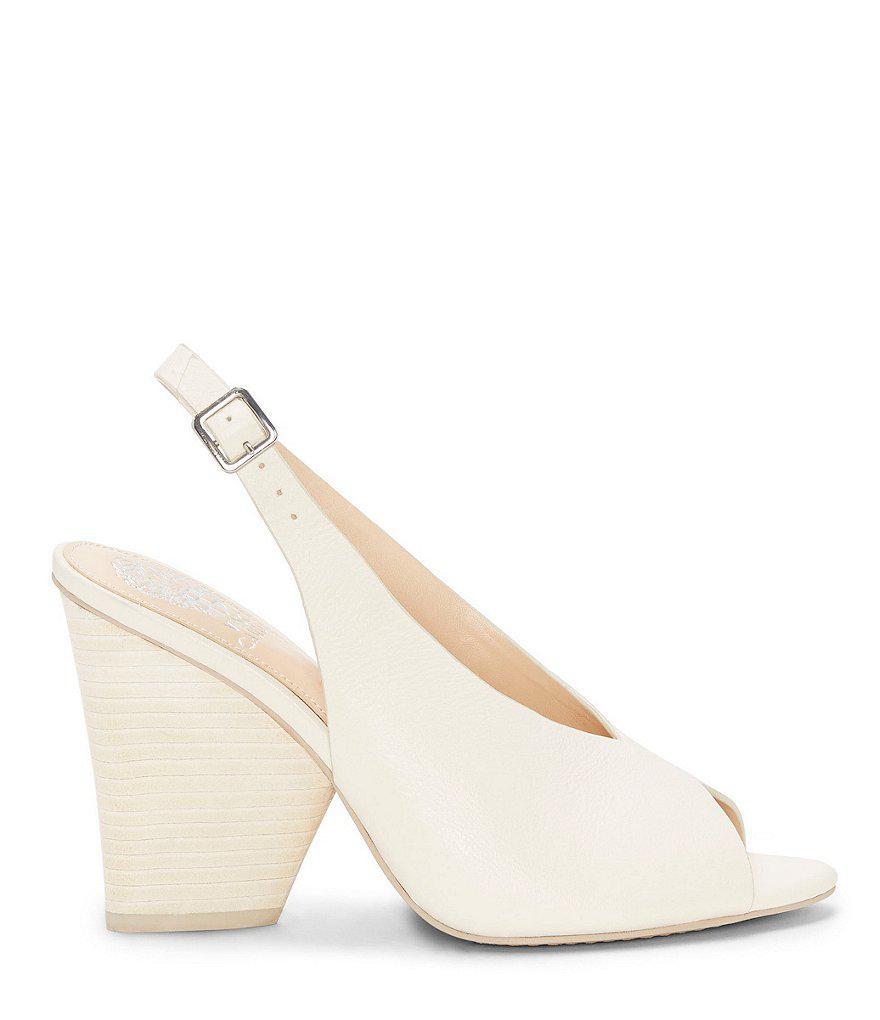 Adeetra Peep Toe Slingback Block Heel Sandals tjxRxUaUdx
