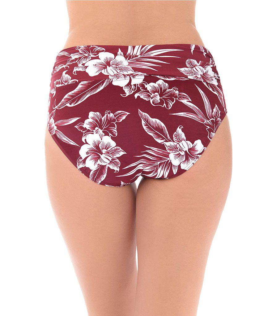 50f24c222aa41 Gallery. Previously sold at: Dillard's · Women's High Waisted Bikini Bottoms
