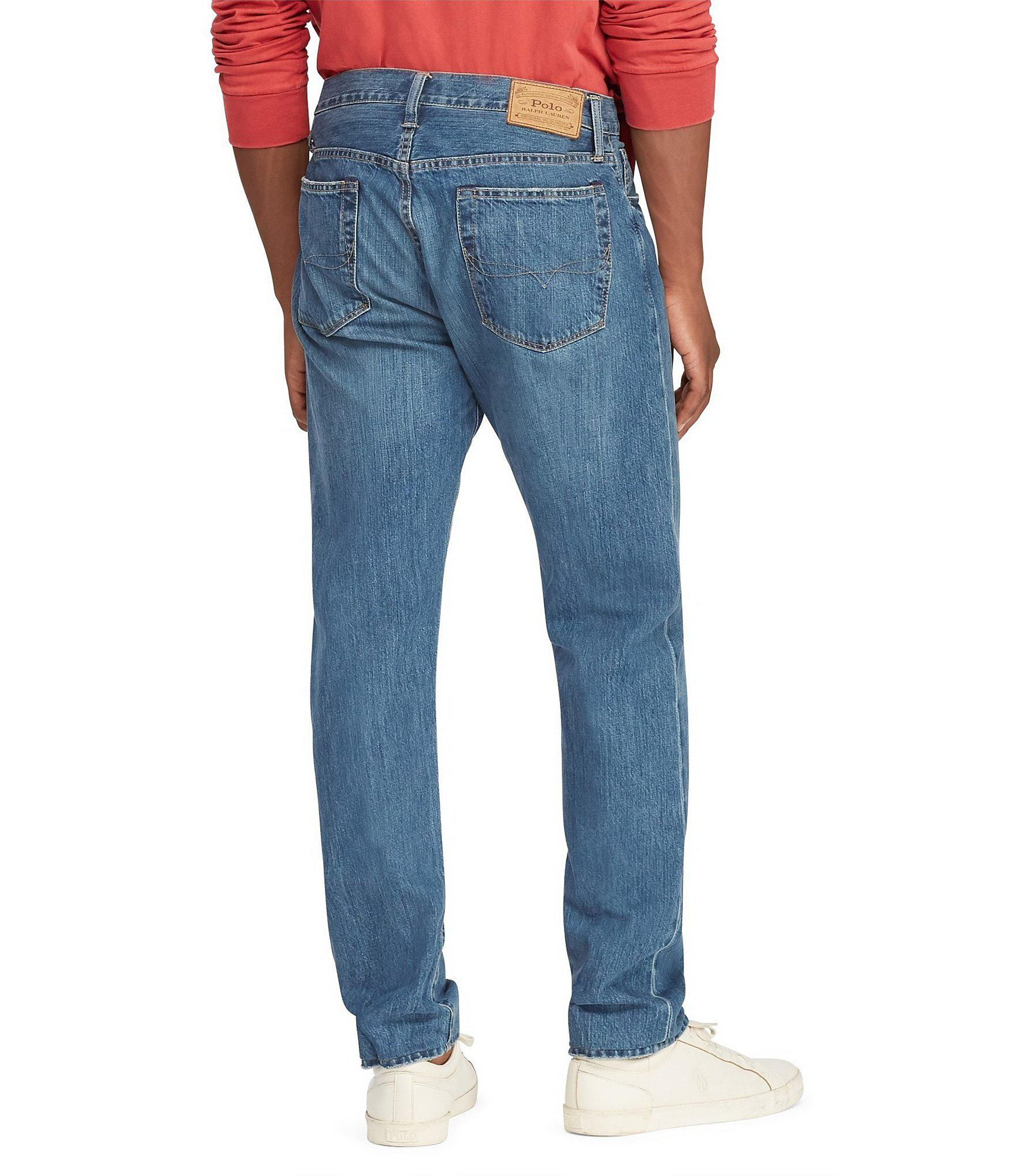 845835338 Lyst - Polo Ralph Lauren Thompson Relaxed-fit Jeans in Blue for Men