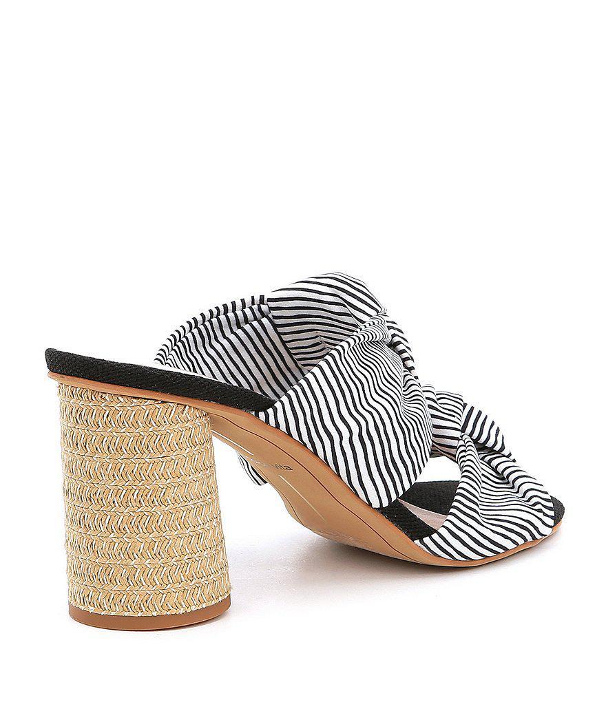 Jene Stripe Double Knot Sandals lJQ5hLJ