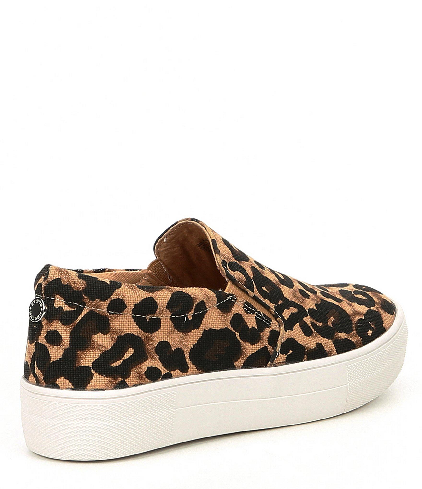 b5b5194f9cd Women's Brown Gills Leopard Print Platform Sneakers