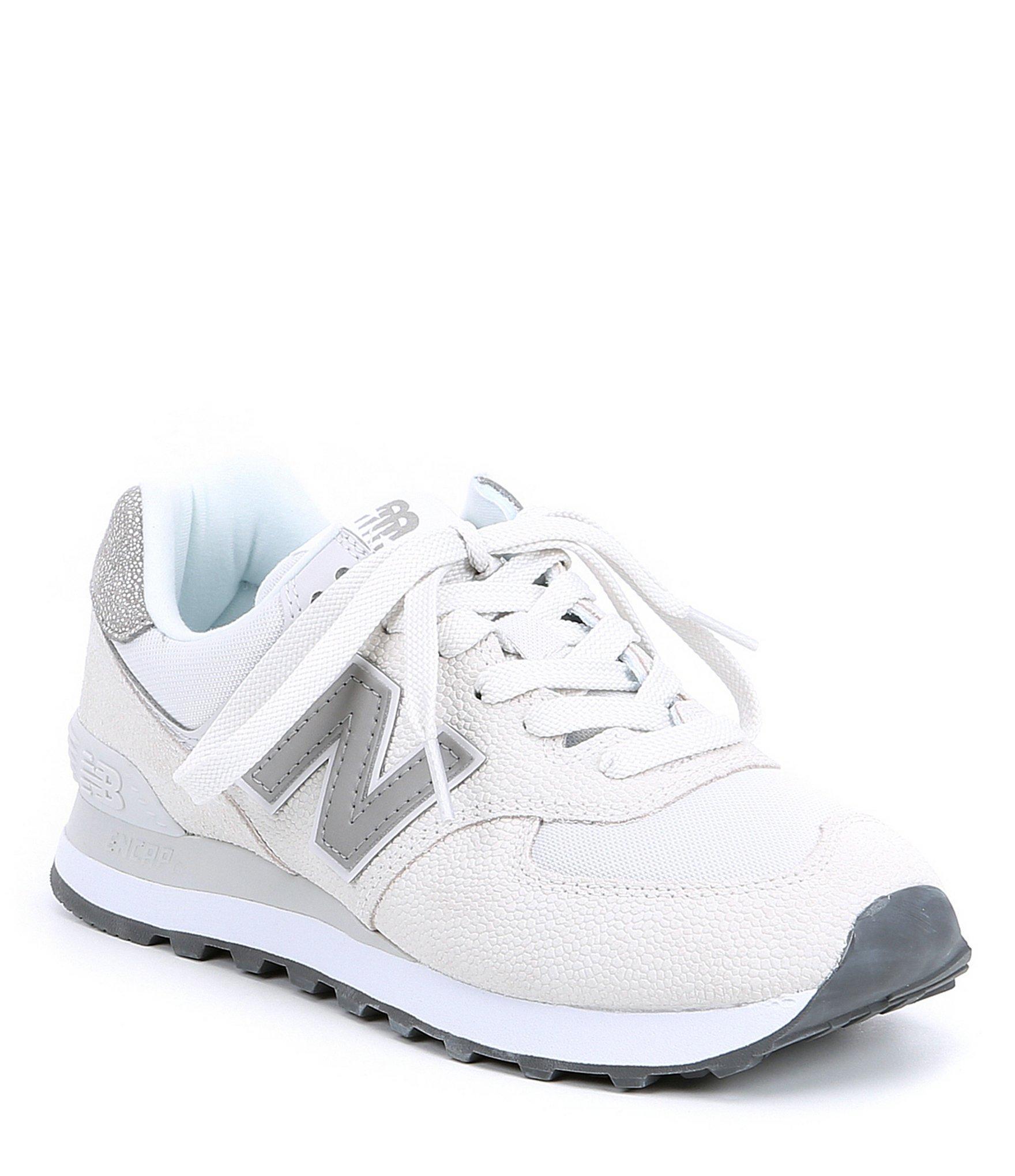 new balance women's 574 white