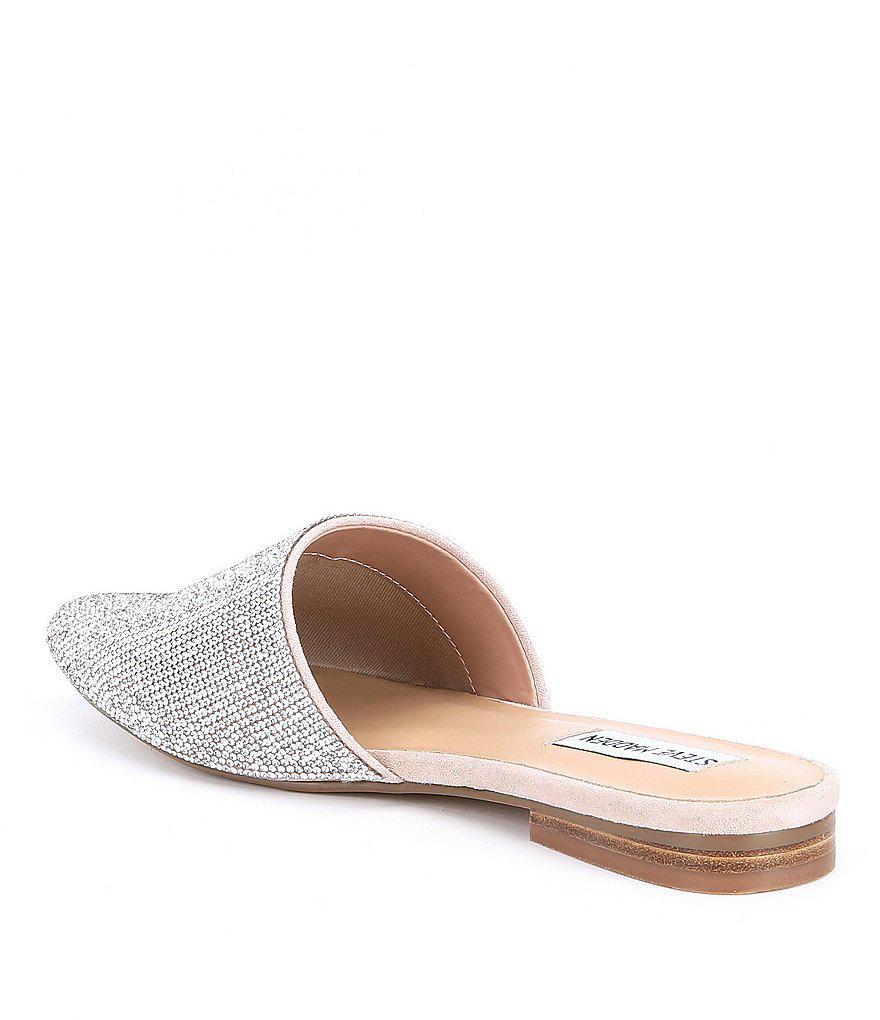 Trace Rhinestone Embellished Jeweled Slip-On Mules 7JWe6