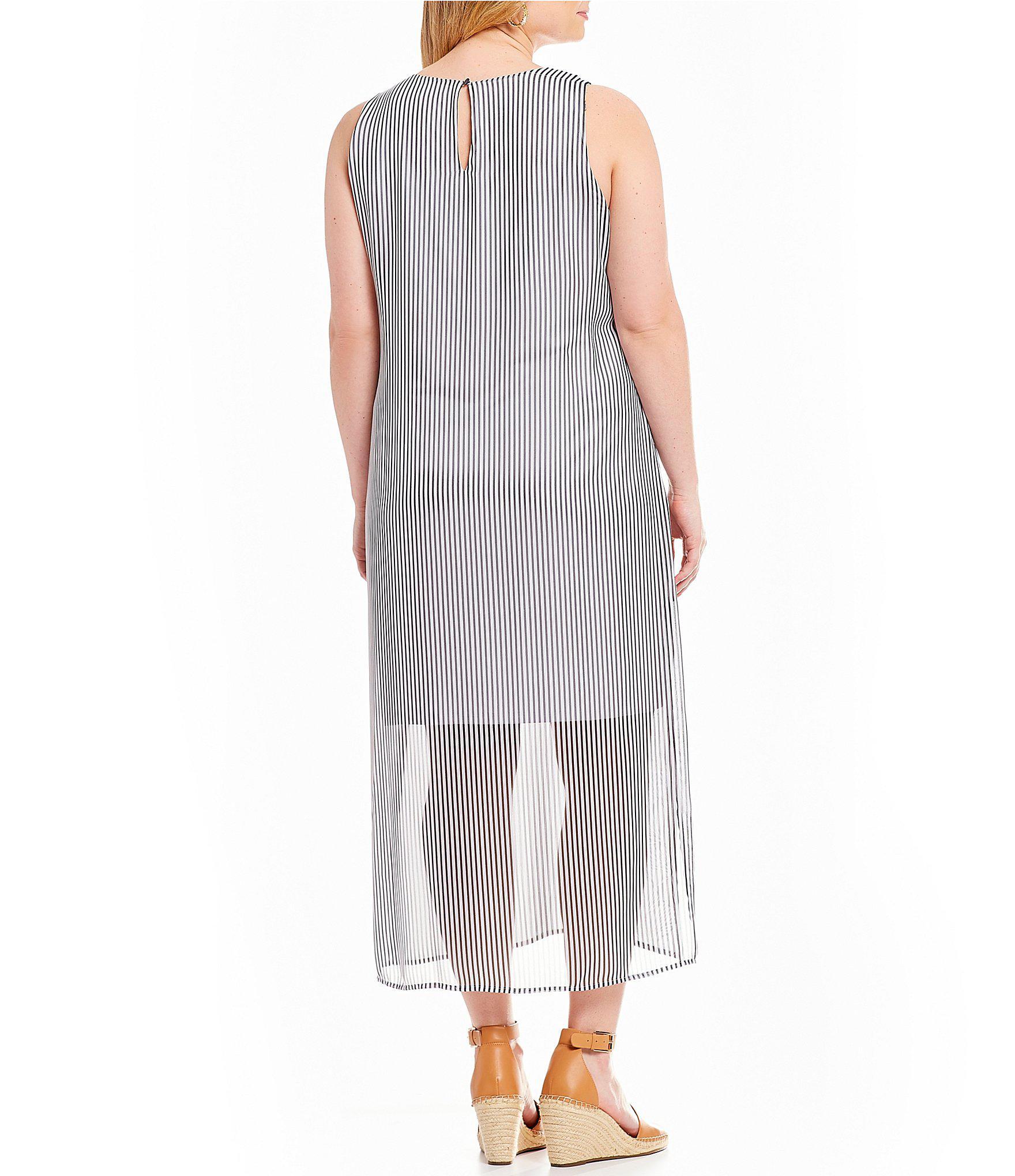 508bf3de463 Lyst - Vince Camuto Plus Size Island Floral Maxi Dress