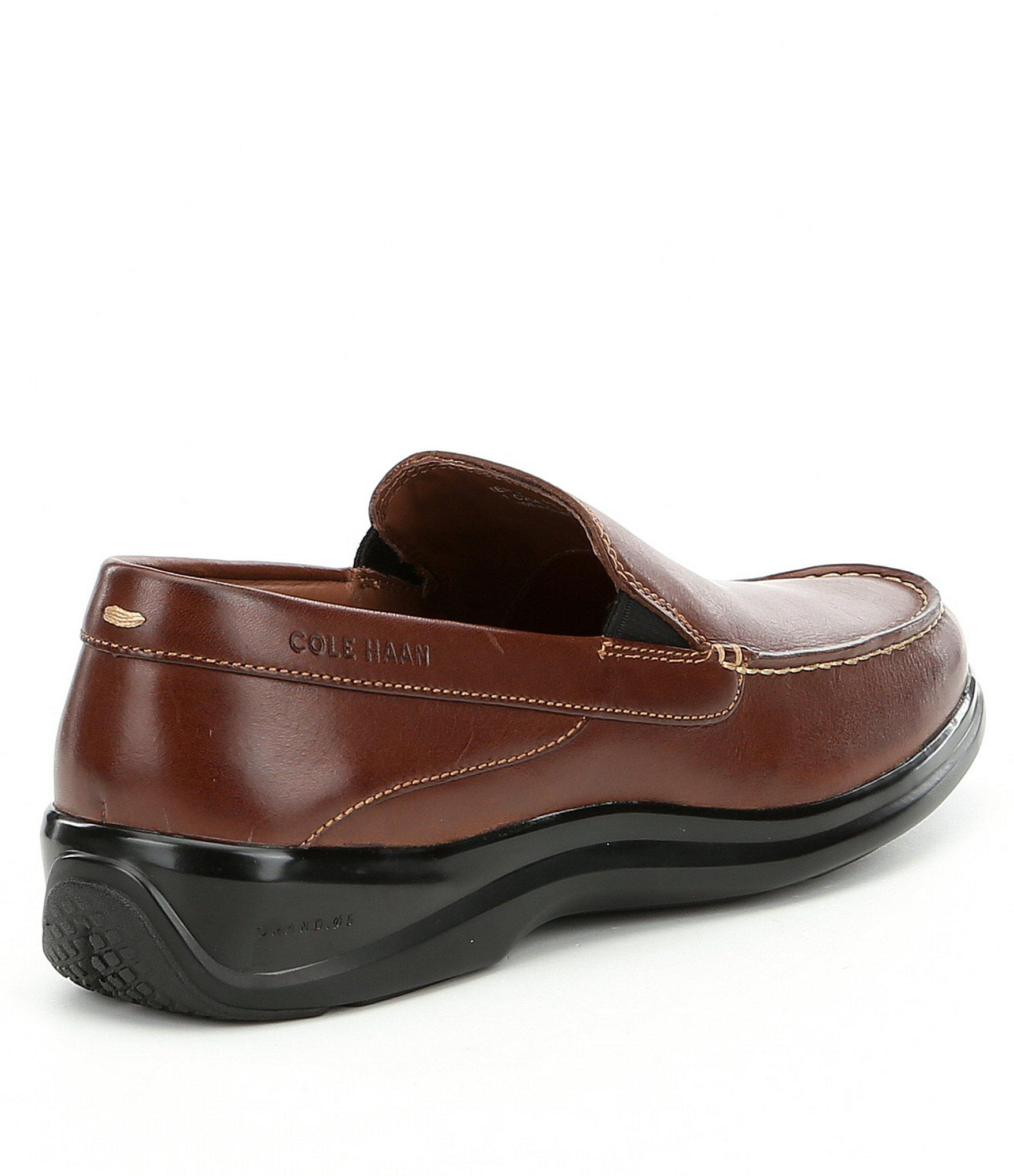 7d01f3ad07a Lyst - Cole Haan Men s Santa Barbara Twin Gore Ii Loafers in Brown ...