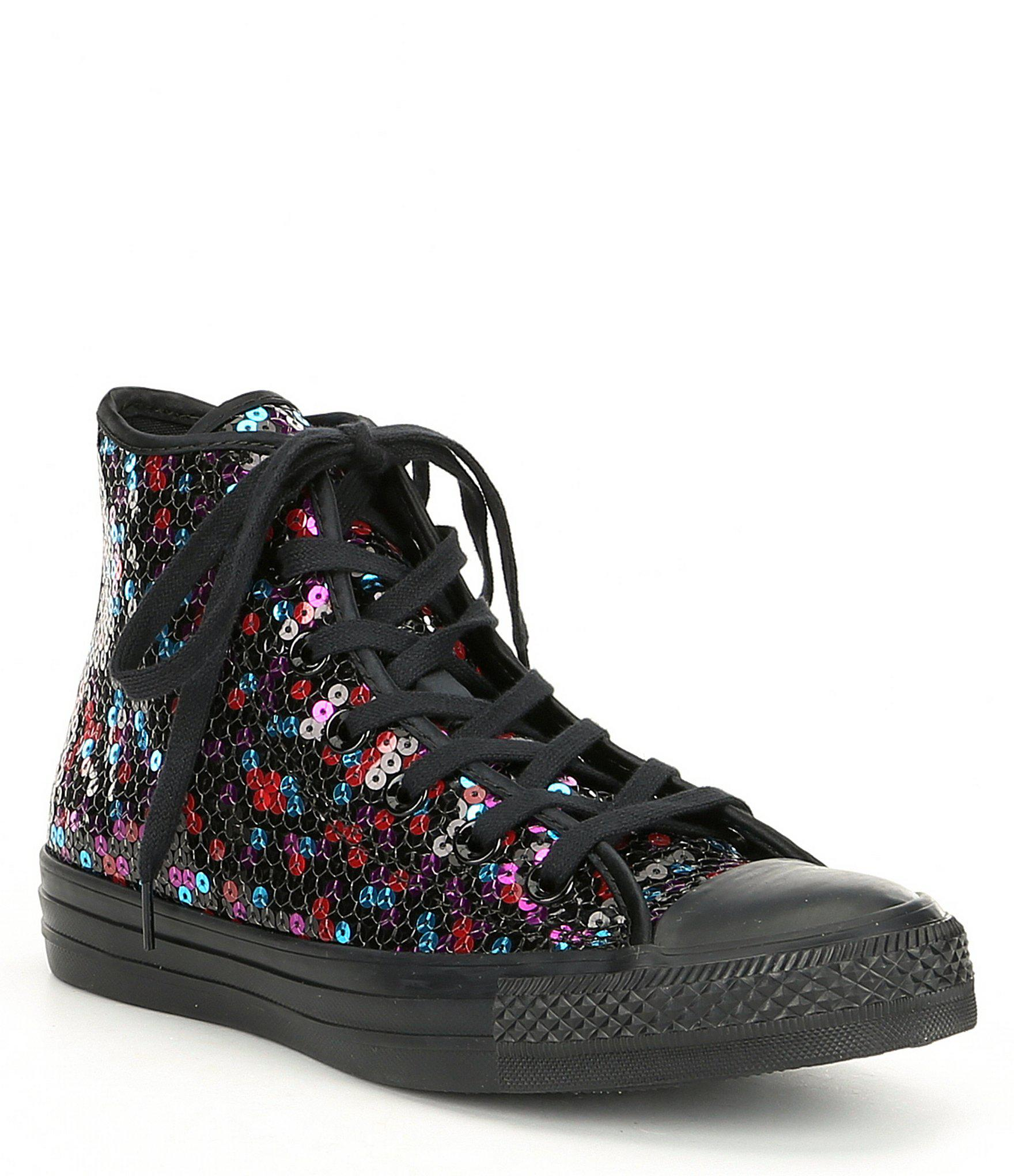 Converse Top Star Taylor Sequined Multi Hi Chuck Colored All rnqTv8xrw6