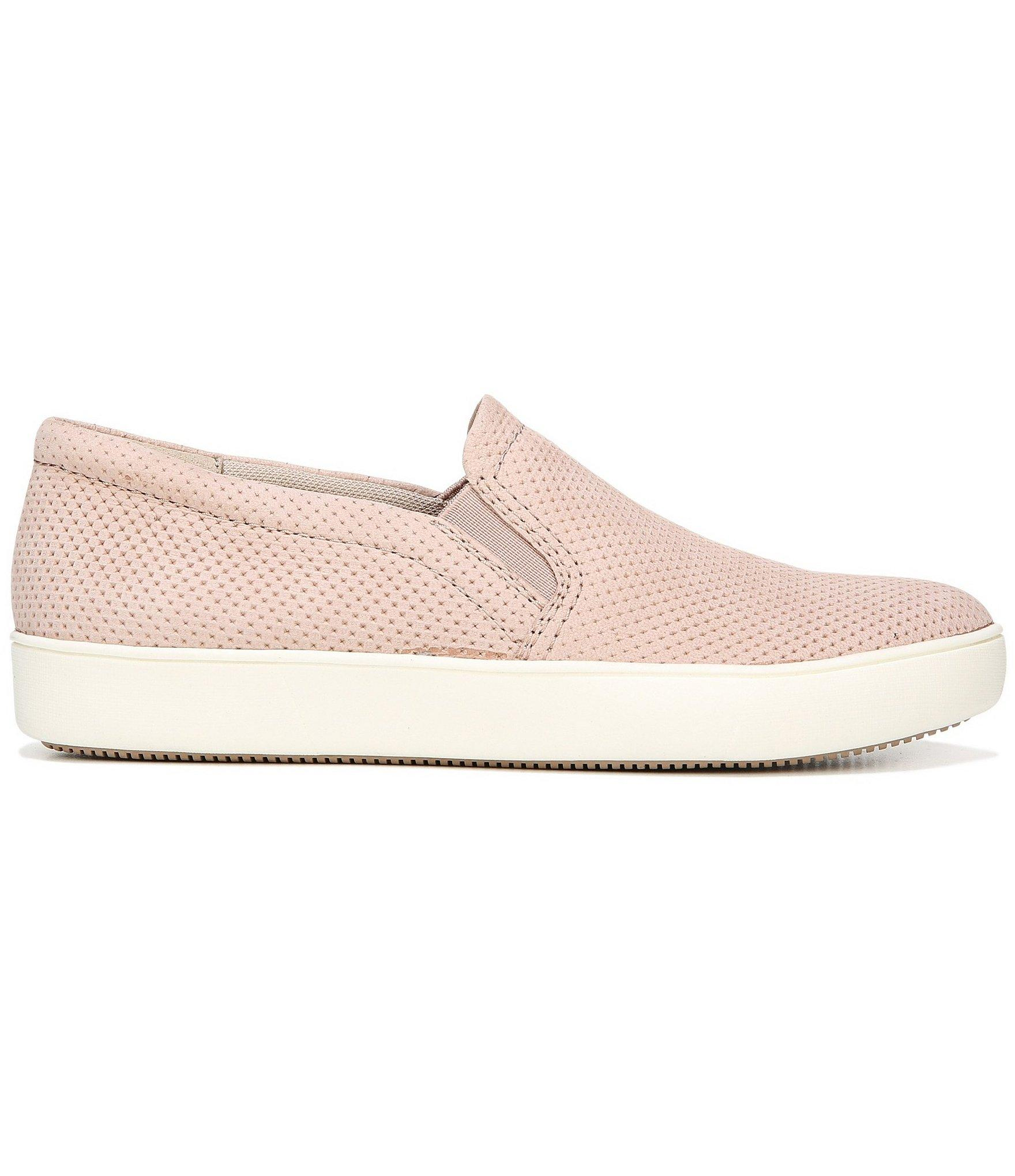 4699df44e0f Lyst - Naturalizer Marianne Perforated Leather Sneakers in Purple