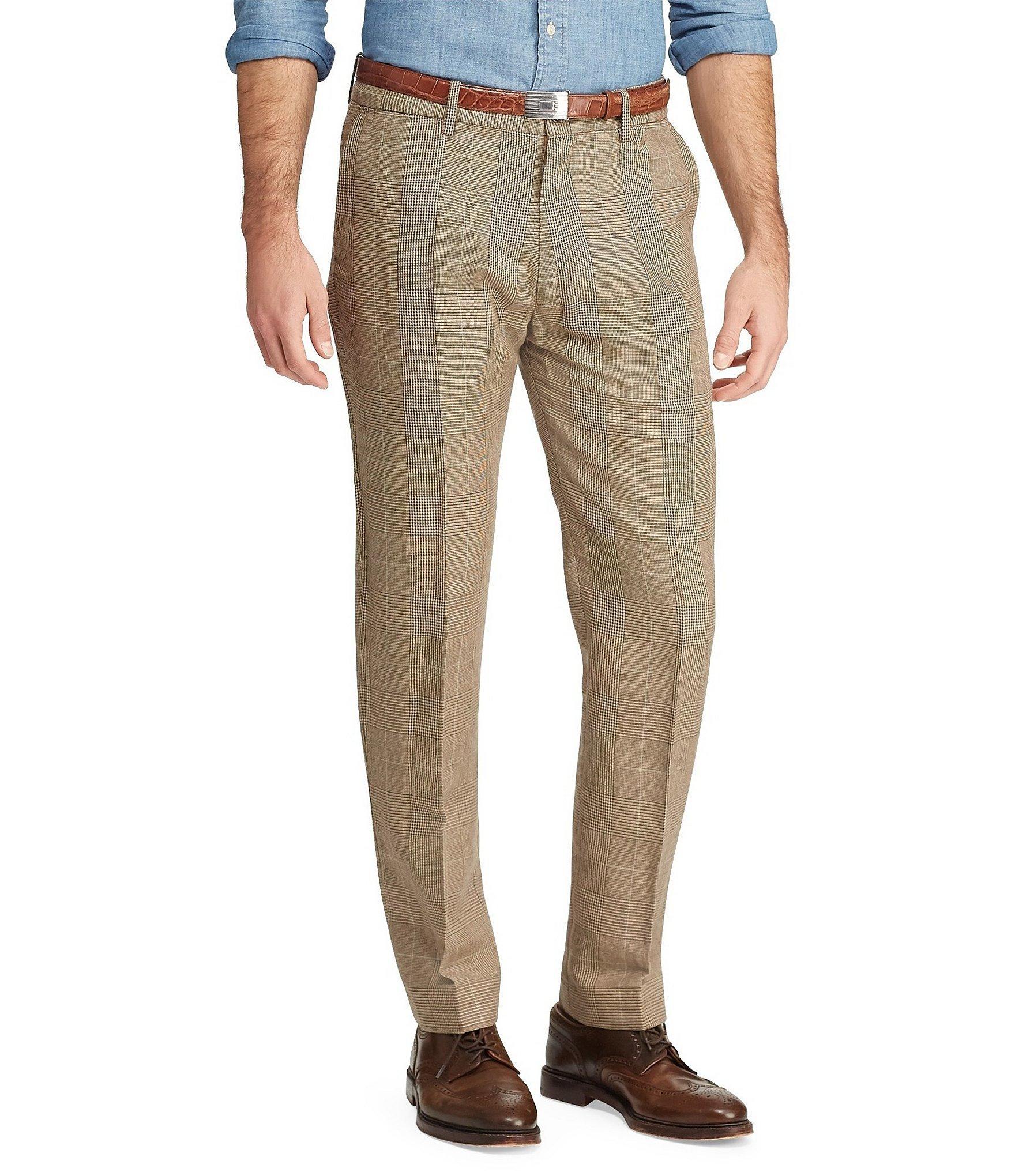 e7620410f Polo Ralph Lauren. Men s Brown Classic-fit Newport Glen Plaid Chino Pants