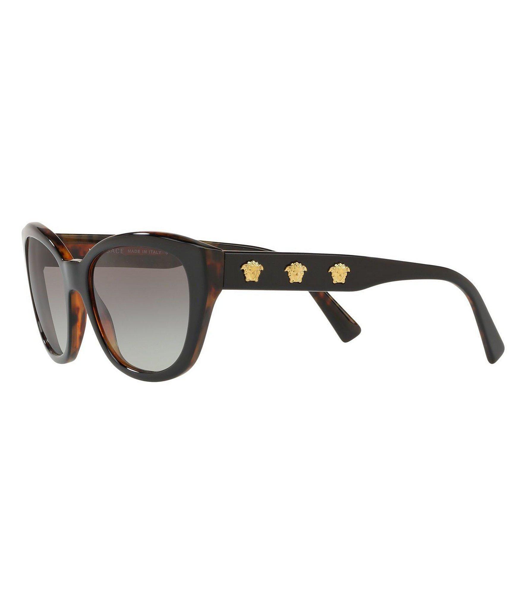 ea30527dd34 Versace - Black Medusa Rock Icon Sunglasses - Lyst. View fullscreen
