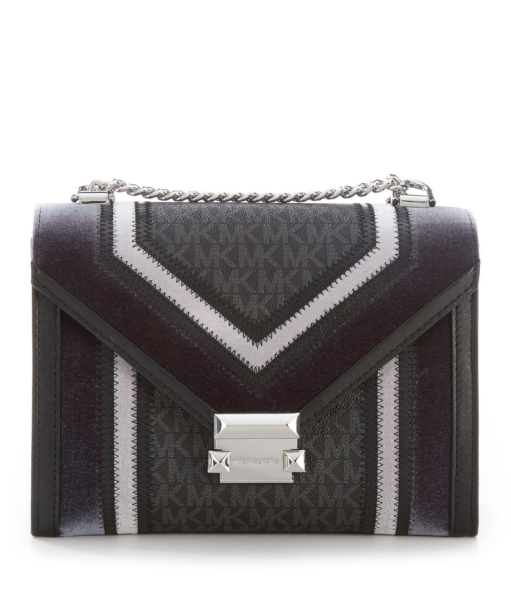 117dc55ec680 MICHAEL Michael Kors Whitney Signature Colorblock Shoulder Bag in ...