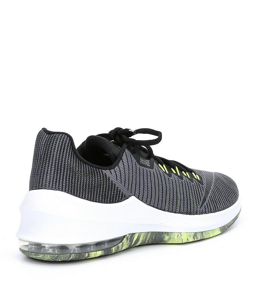 244b8c220010f Nike Men's Air Max Infuriate 2 Low Basketball Shoes in Gray for Men ...