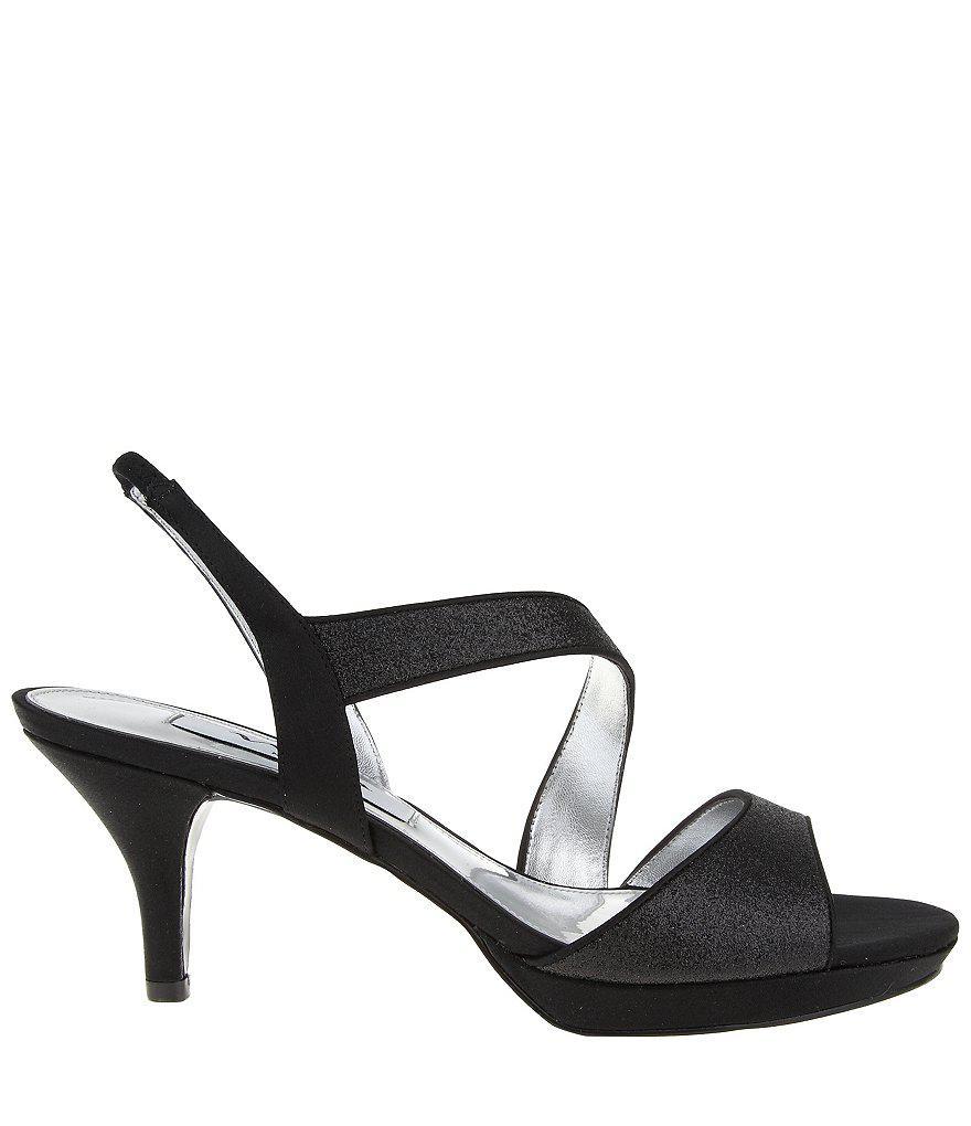 Newark Glitter Slip-On Dress Sandals 0npliwIUgX