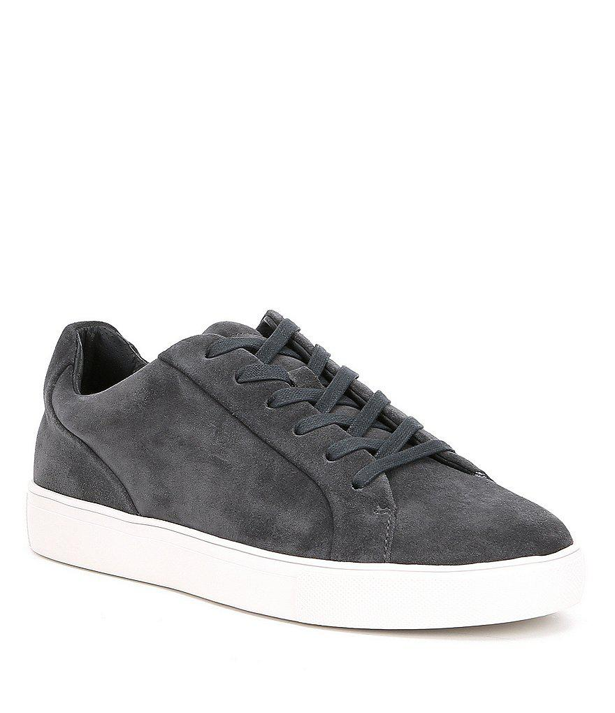 best service 71948 bdbdd Steve Madden Gq + Mens James Lace-up Suede Sneakers in Gray
