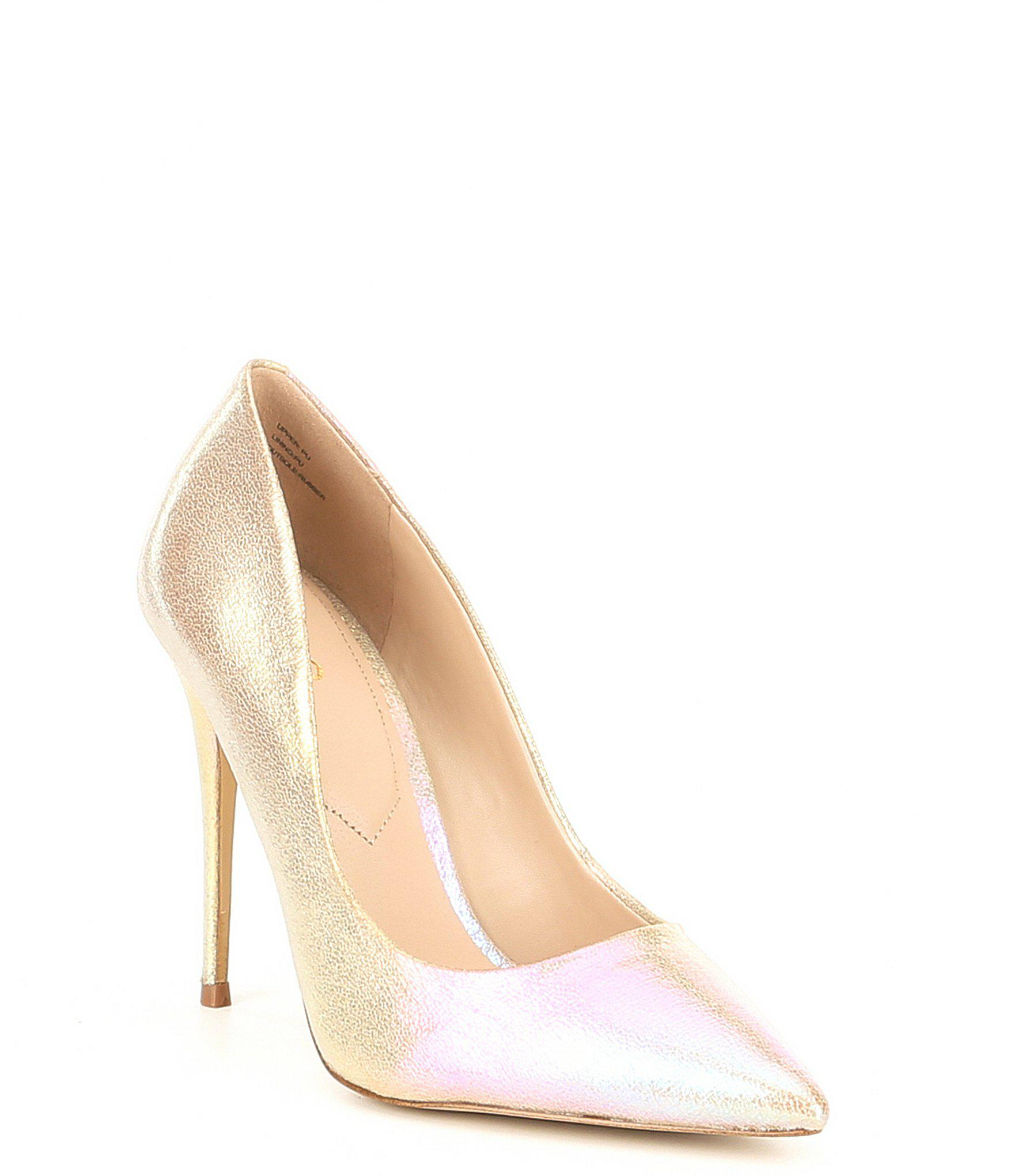 808b6d7d24a8 Lyst - ALDO Stessy Synthetic Pumps in Natural
