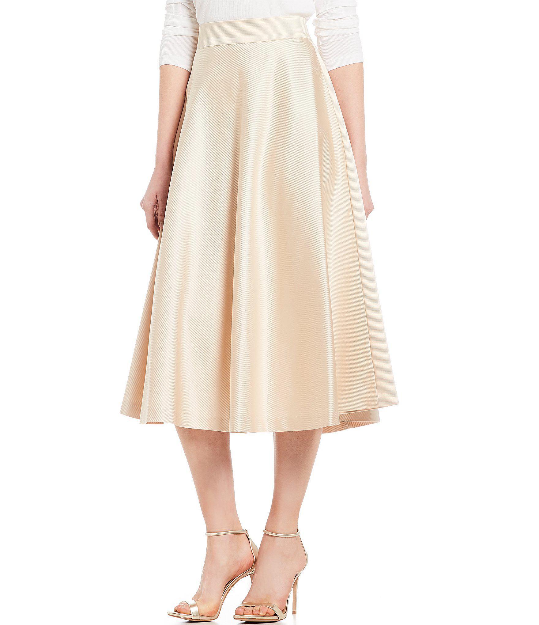 cef93fc9db9c Cremieux Delores A-line Midi Skirt in Metallic - Lyst