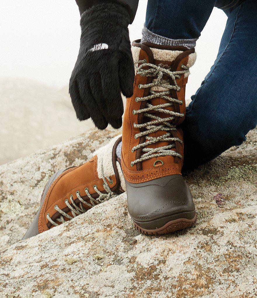 11e31f93b The North Face Green Women's Shellista Ii Waterproof Mid Boots