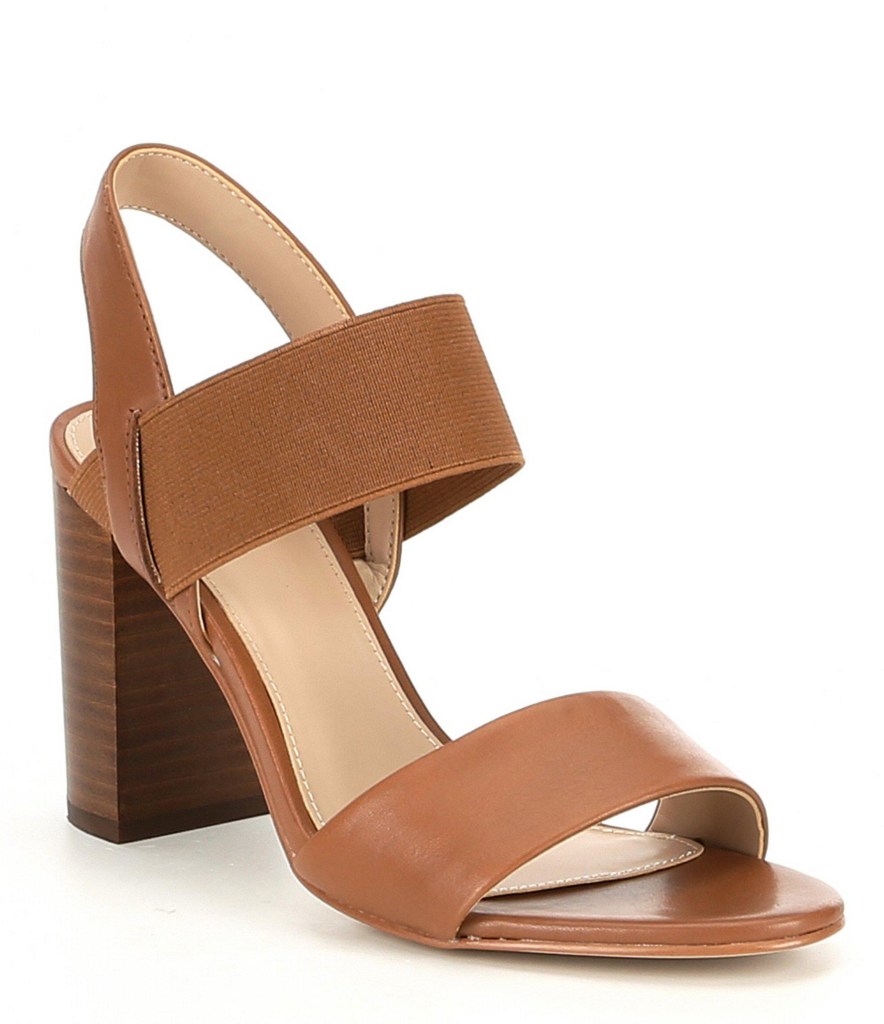 c8b6a24f252 ALDO Mullyra Leather Dress Sandals in Brown - Lyst