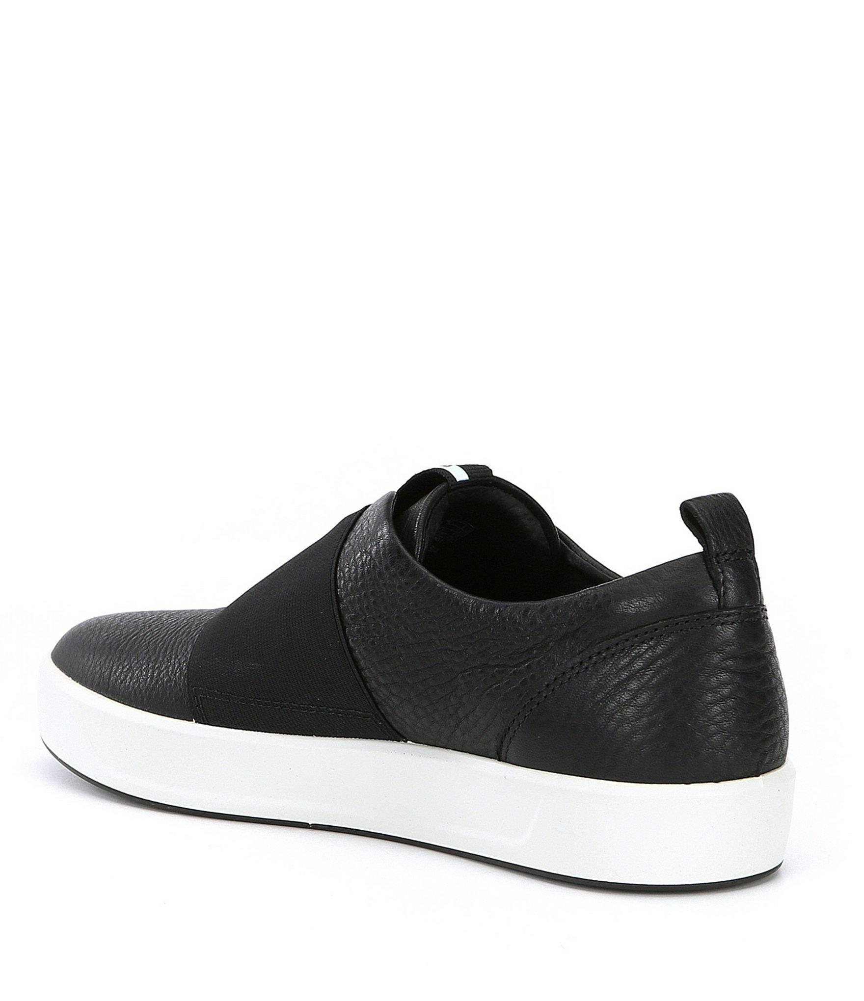 ce0362fa86c2e Black Women's Soft 8 Band Low Slip-on Sneakers