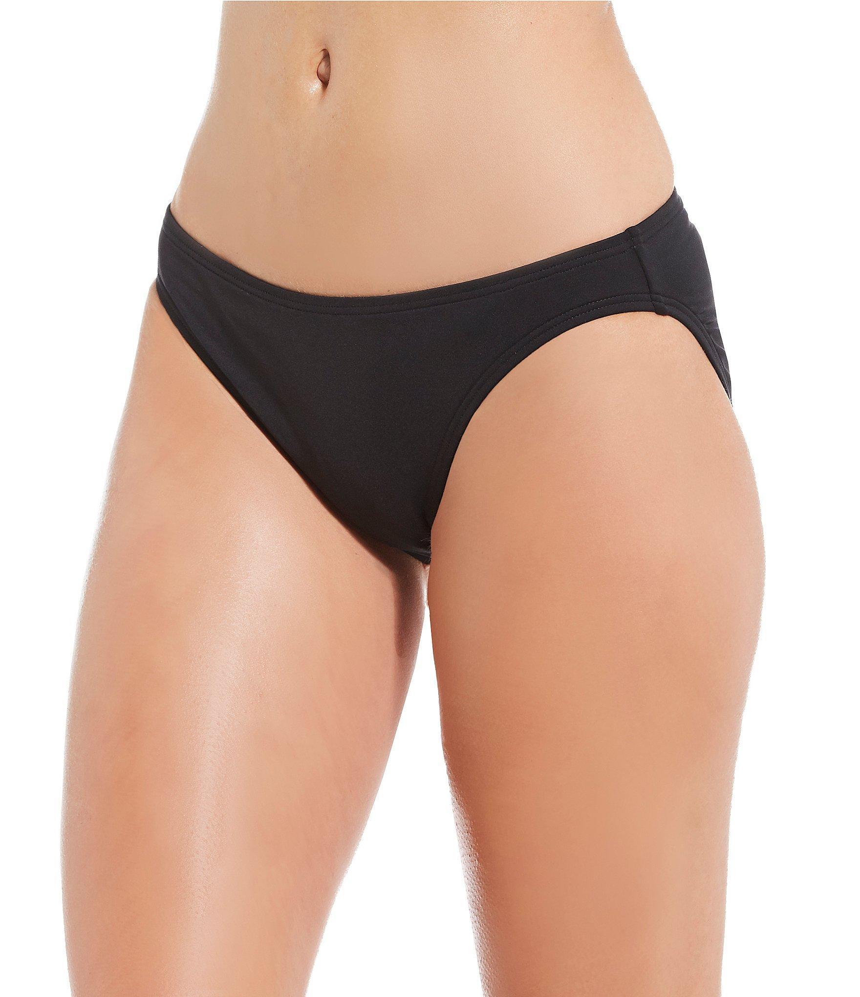 c3ffb84fddceb Lyst - MICHAEL Michael Kors Classic Bikini Swimsuit Bottom in Black
