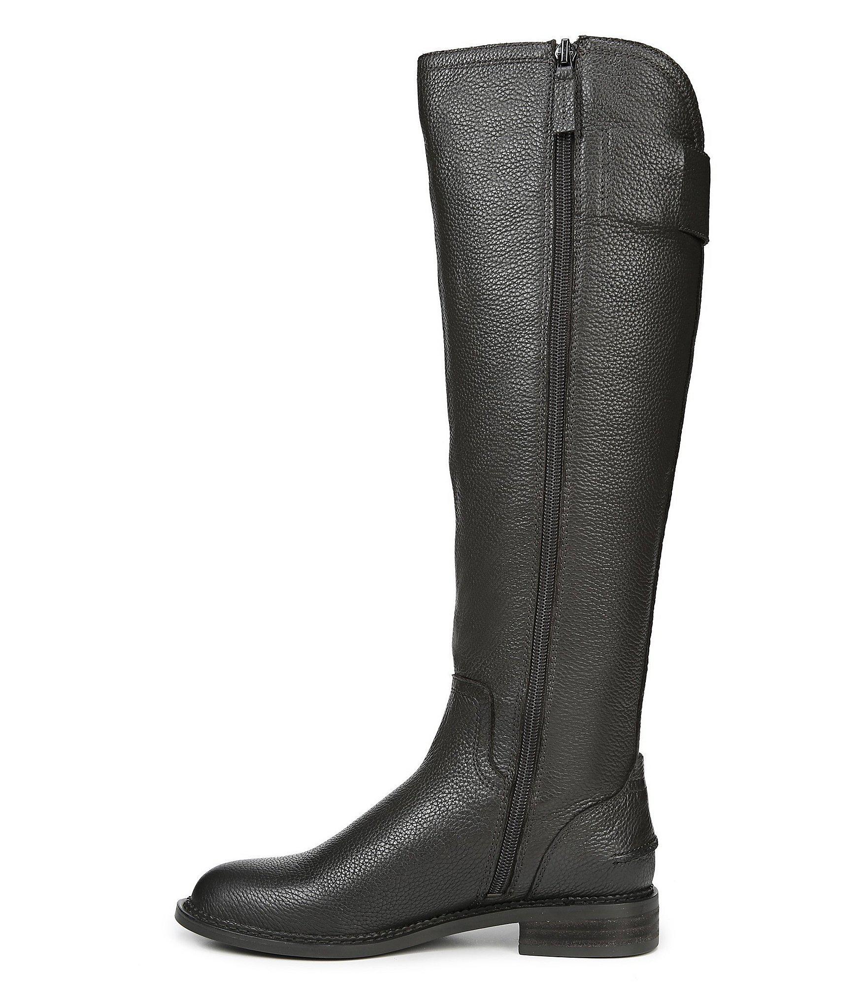 19c58e567f6 Franco Sarto Black Henrietta Tall Wide Calf Boots
