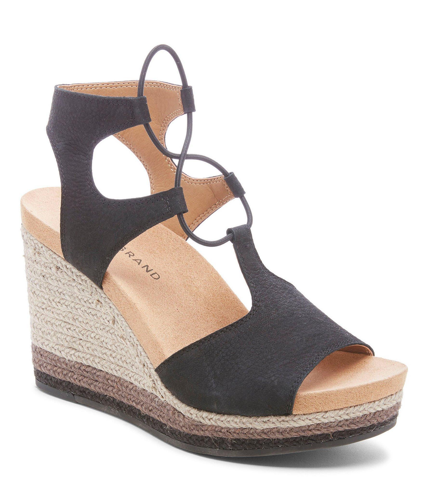 8a43e9aa884 Women's Black Yejida2 Platform Wedge Sandals
