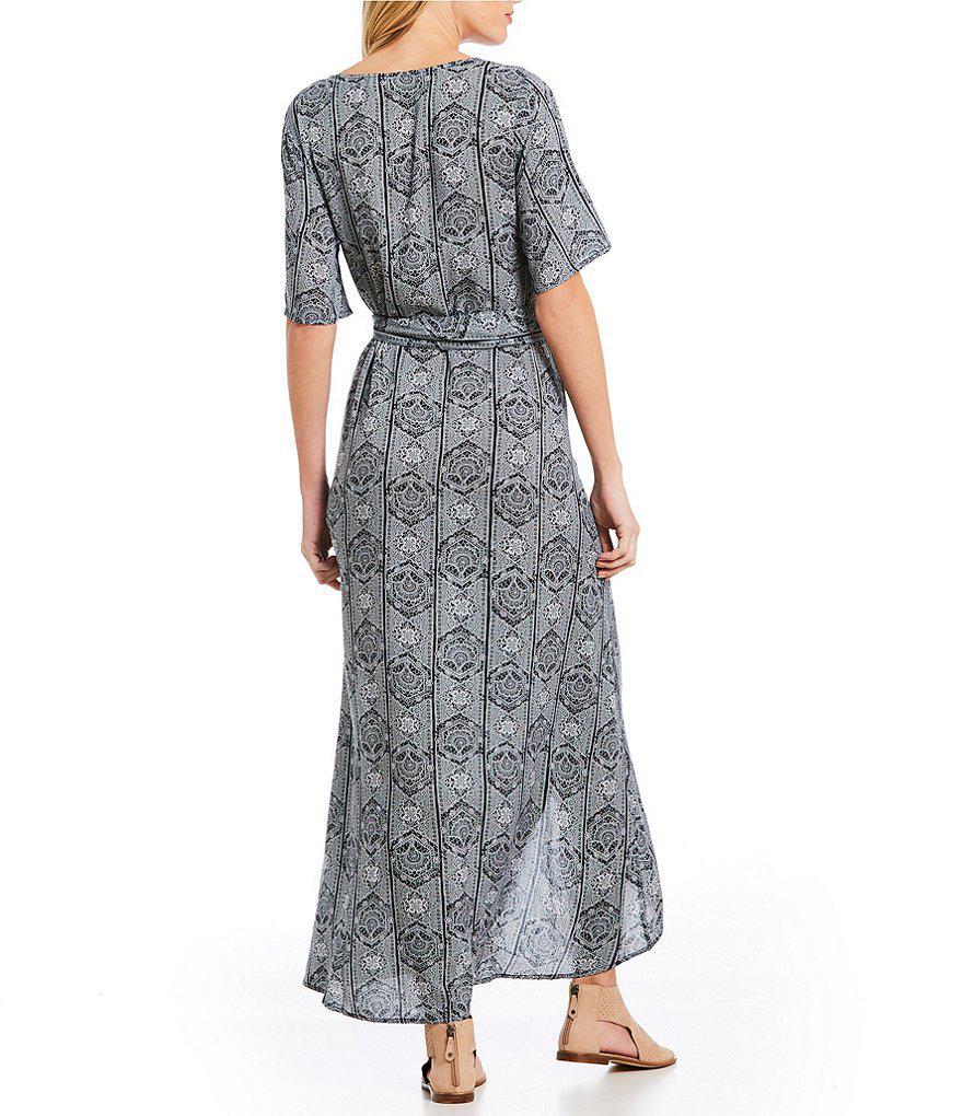 Roxy Womens Delicate Kimono Dress with Belt