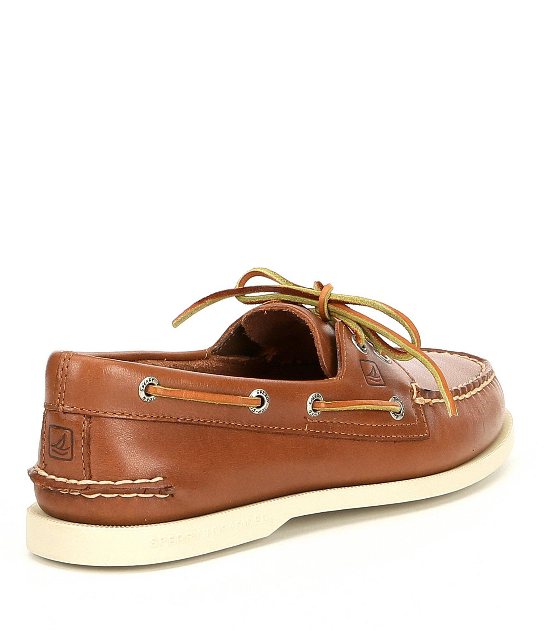 8bcc029c48 Sperry Top-Sider - Brown Men's Top-sider Authentic Original 2-eye Boat.  View fullscreen