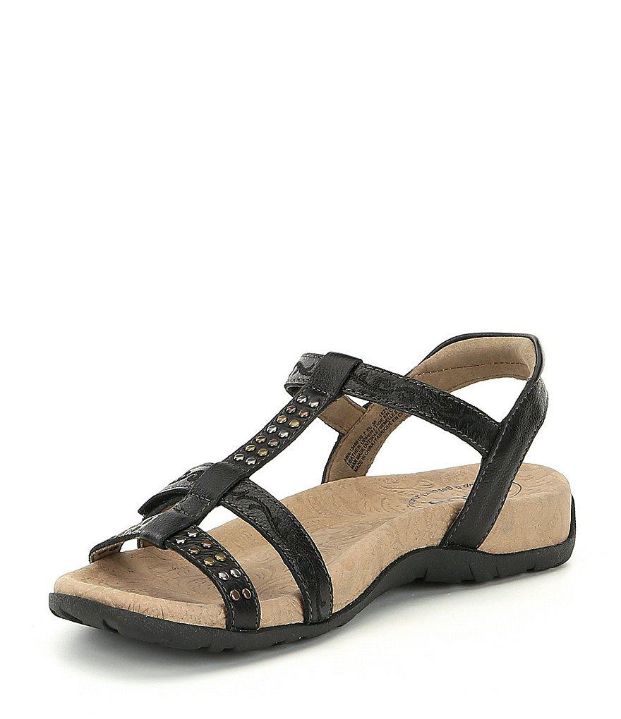 Taos Footwear Award Studded Leather Sandals U5uDw