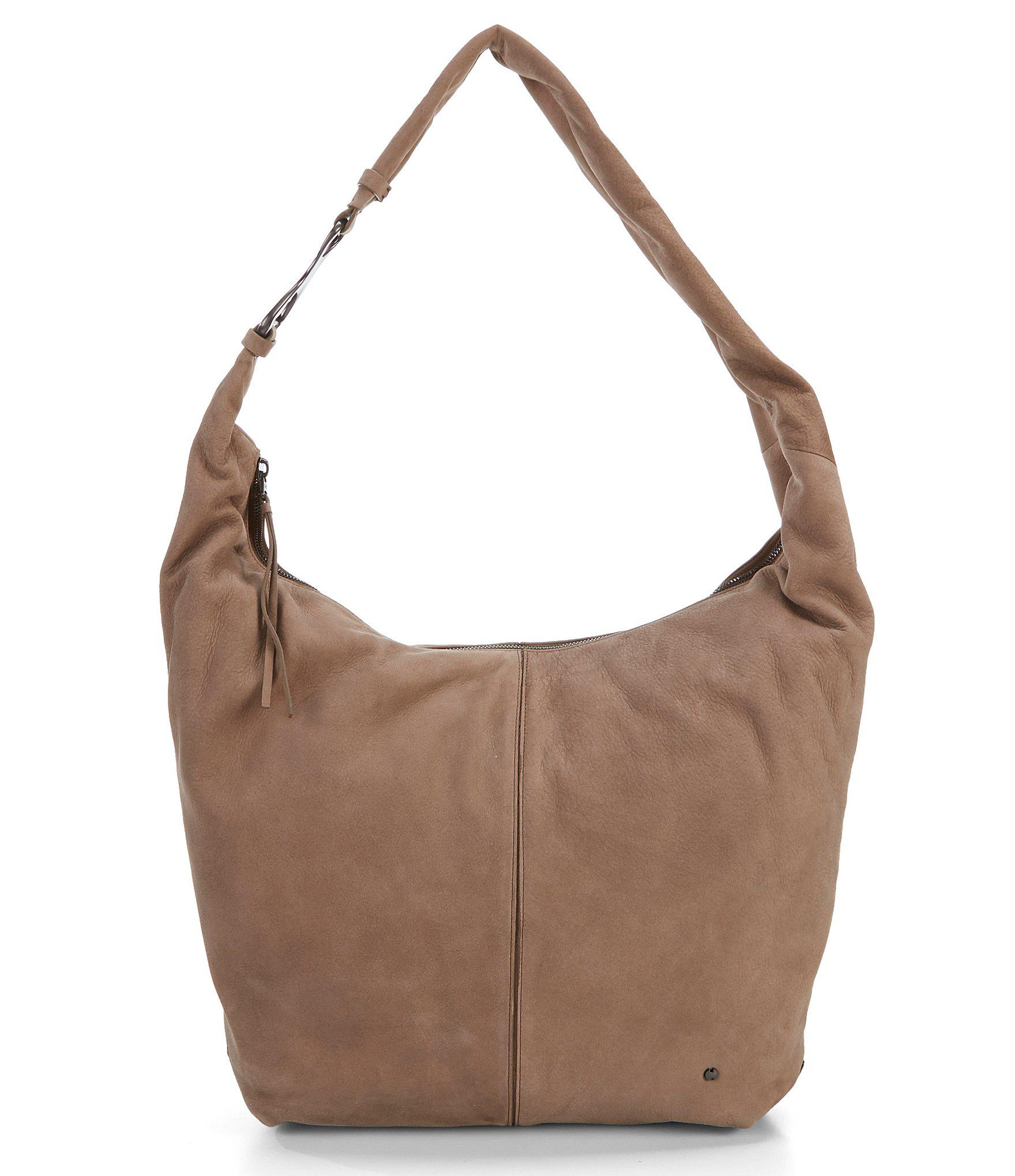 6ad46fbeedb5 Lyst - Halston Heritage Tina Large Slouchy Hobo Bag in Brown