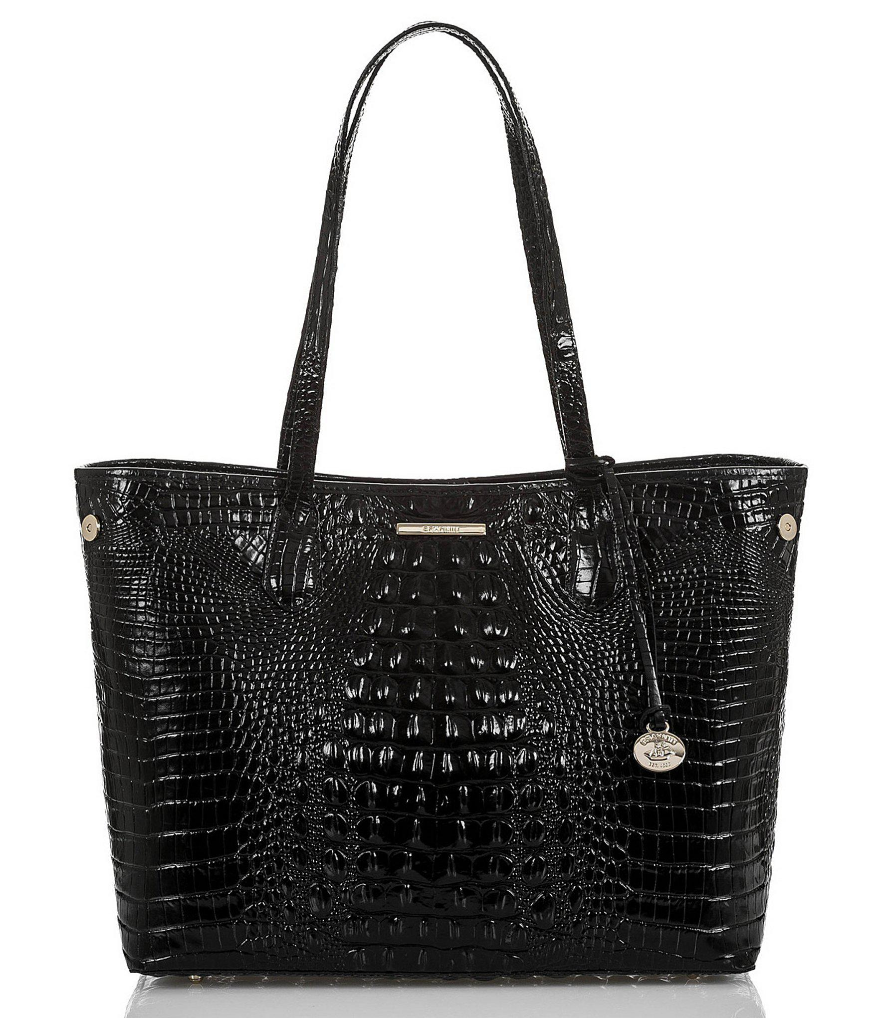 9f4e7345c8edf Lyst - Brahmin Melbourne Collection Medium Julian Tote in Black