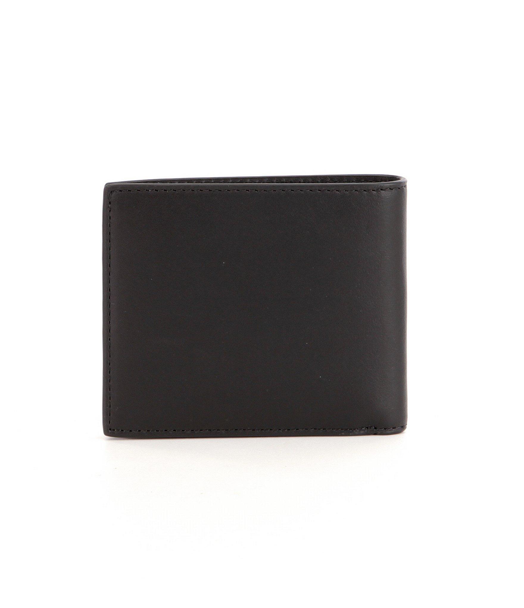 ea4232f7ffef92 Michael Kors - Black Odin Resina Billfold Wallet for Men - Lyst. View  fullscreen