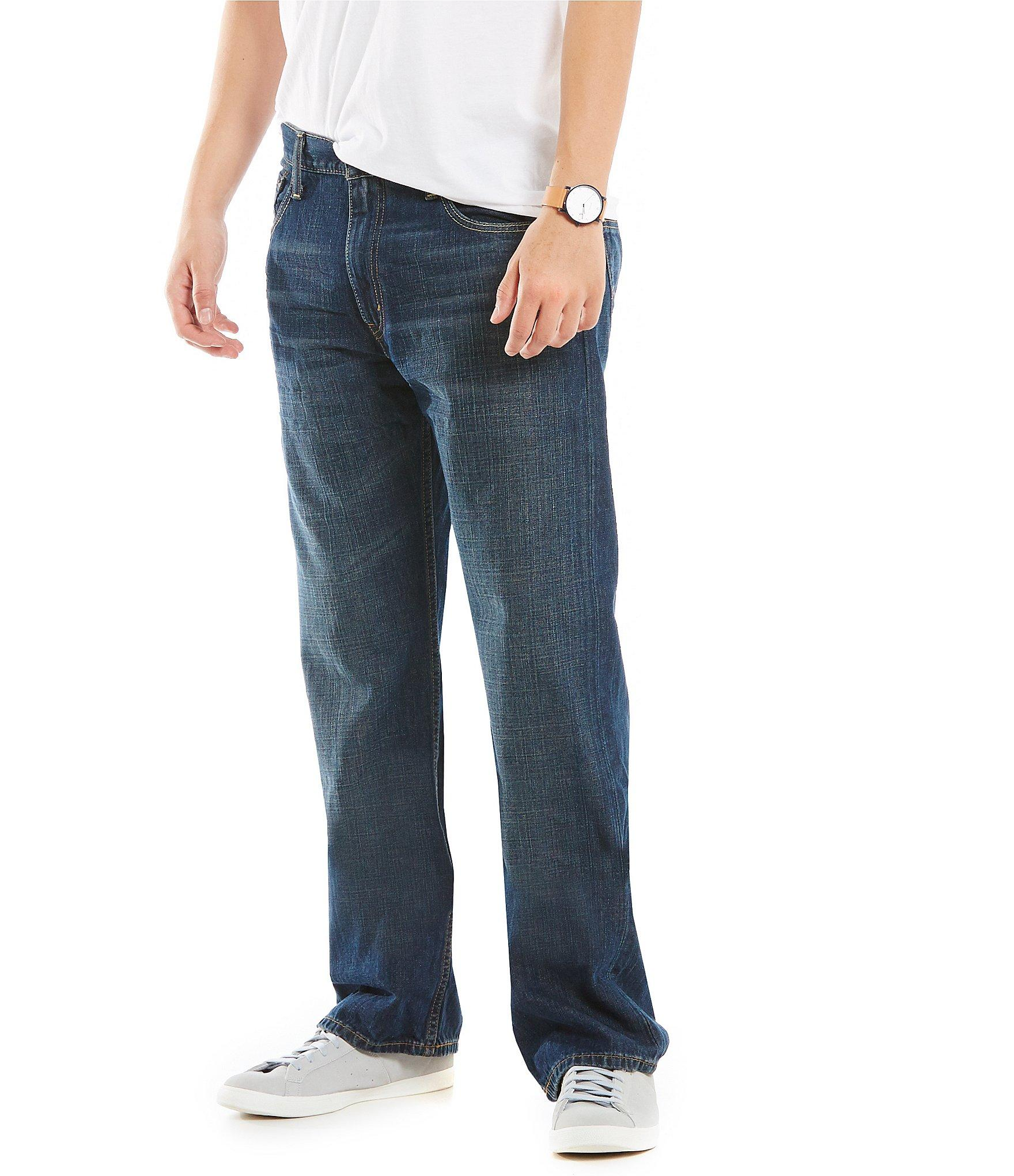 lyst levis 174 569tm loose straight jeans in blue for men
