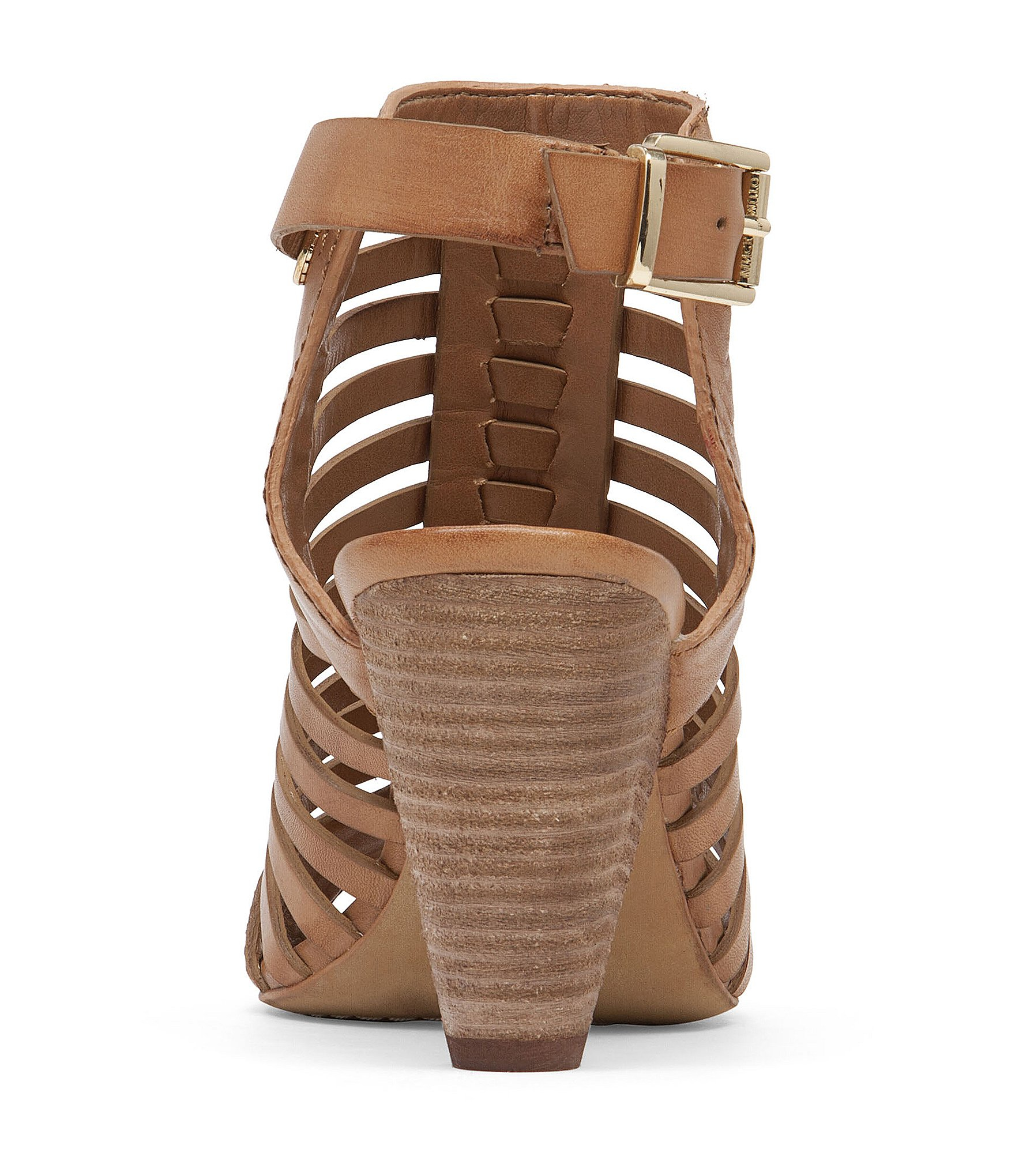 Vince Camuto Elrita Huarache Sandals In Brown Lyst