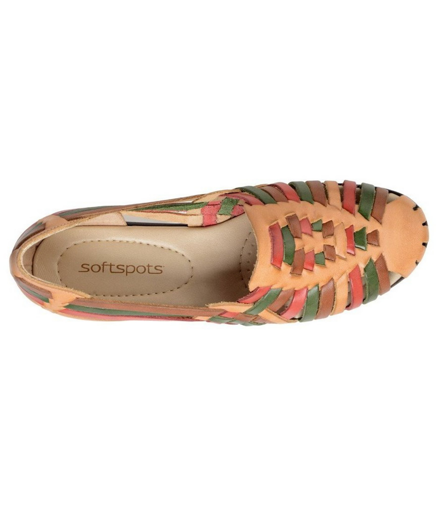 Softspots Trinidad Colorblocked Huarache Sandals Lyst