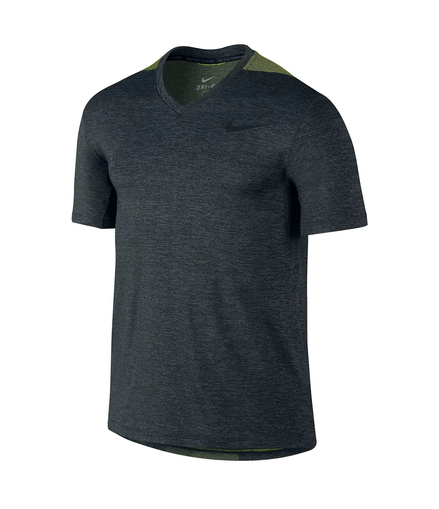 Nike ultimatum vapor shirt in gray for men lyst for Dri fit dress shirts