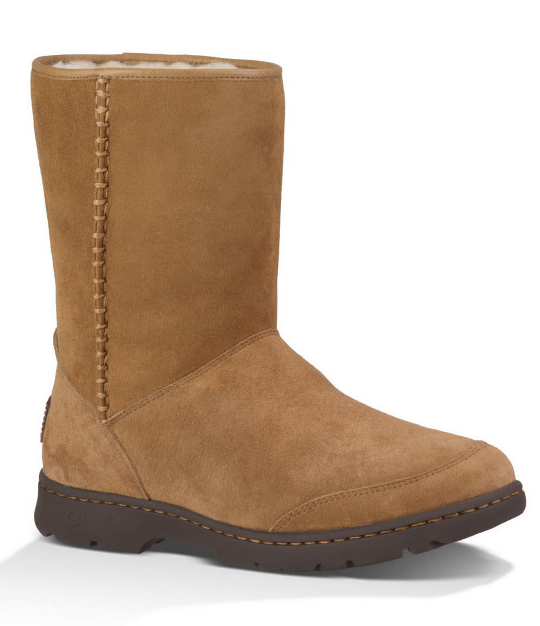 ugg ugg michaela waterproof suede boot in save
